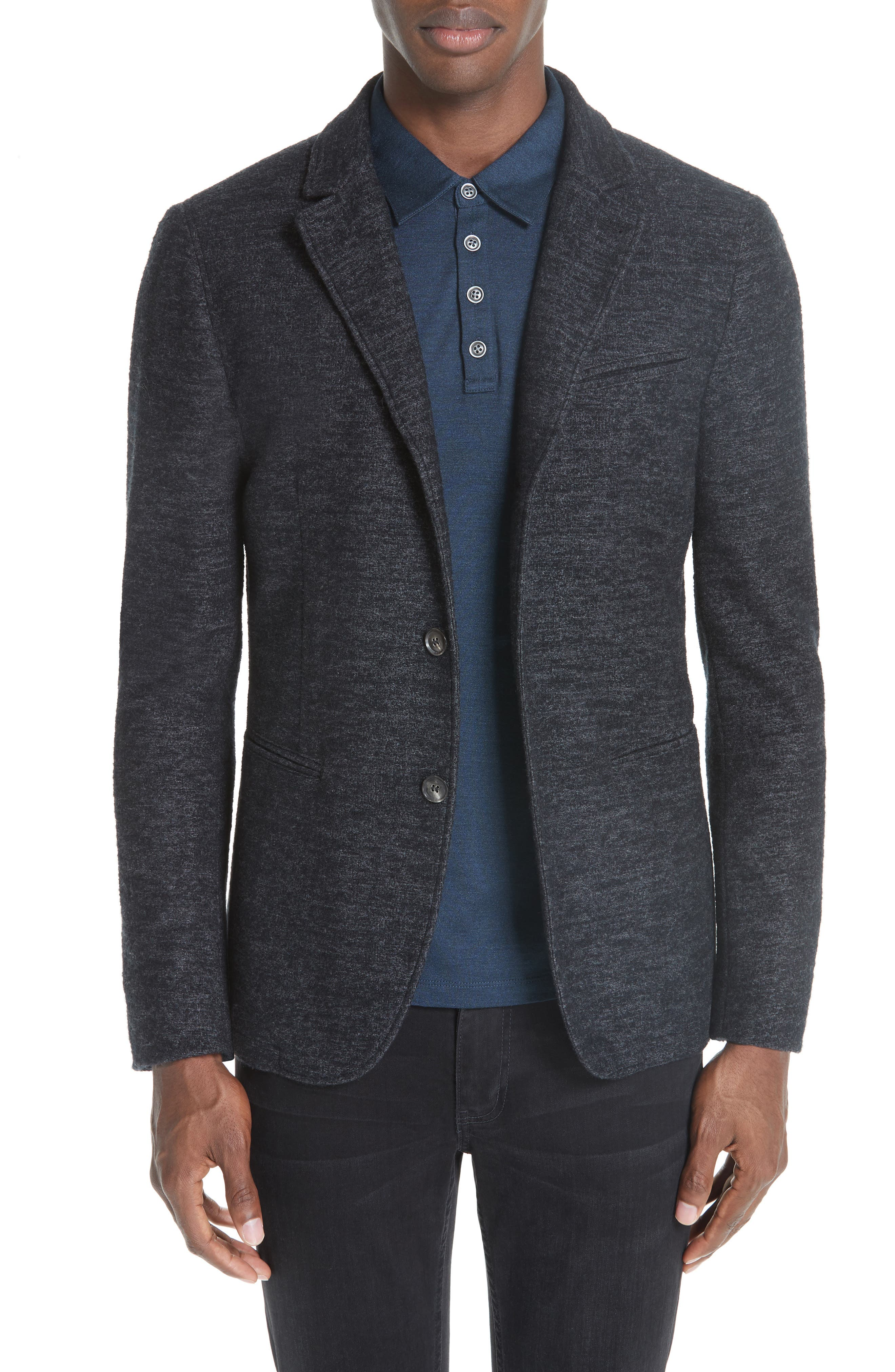 Knit Blazer,                         Main,                         color, 041