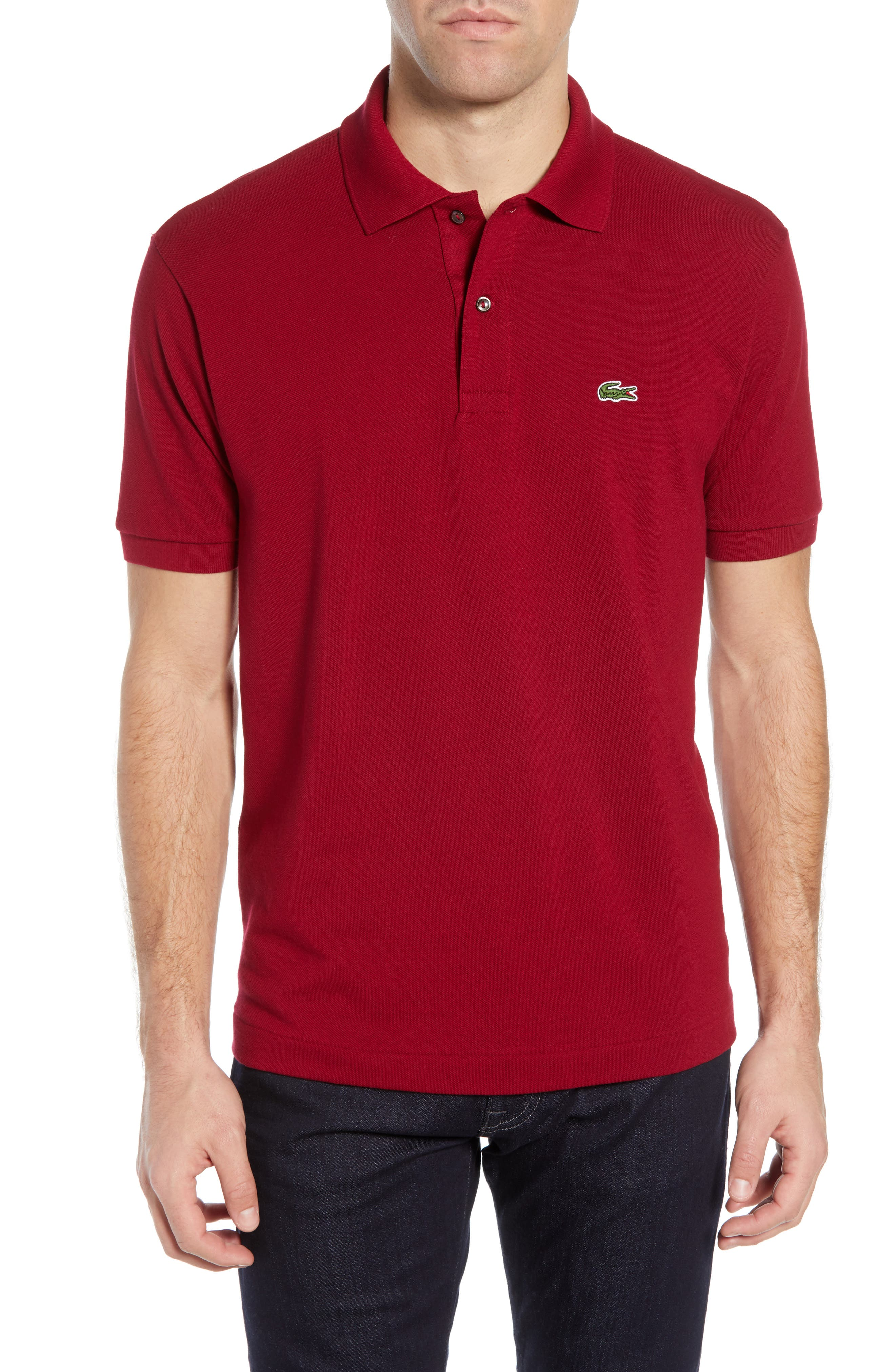 5b599e102222b1 ... Short Sleeve Classic Pique Polo Style  L1212-51 UPC 610836204093  product image for Men s Lacoste  L1212  Pique Polo