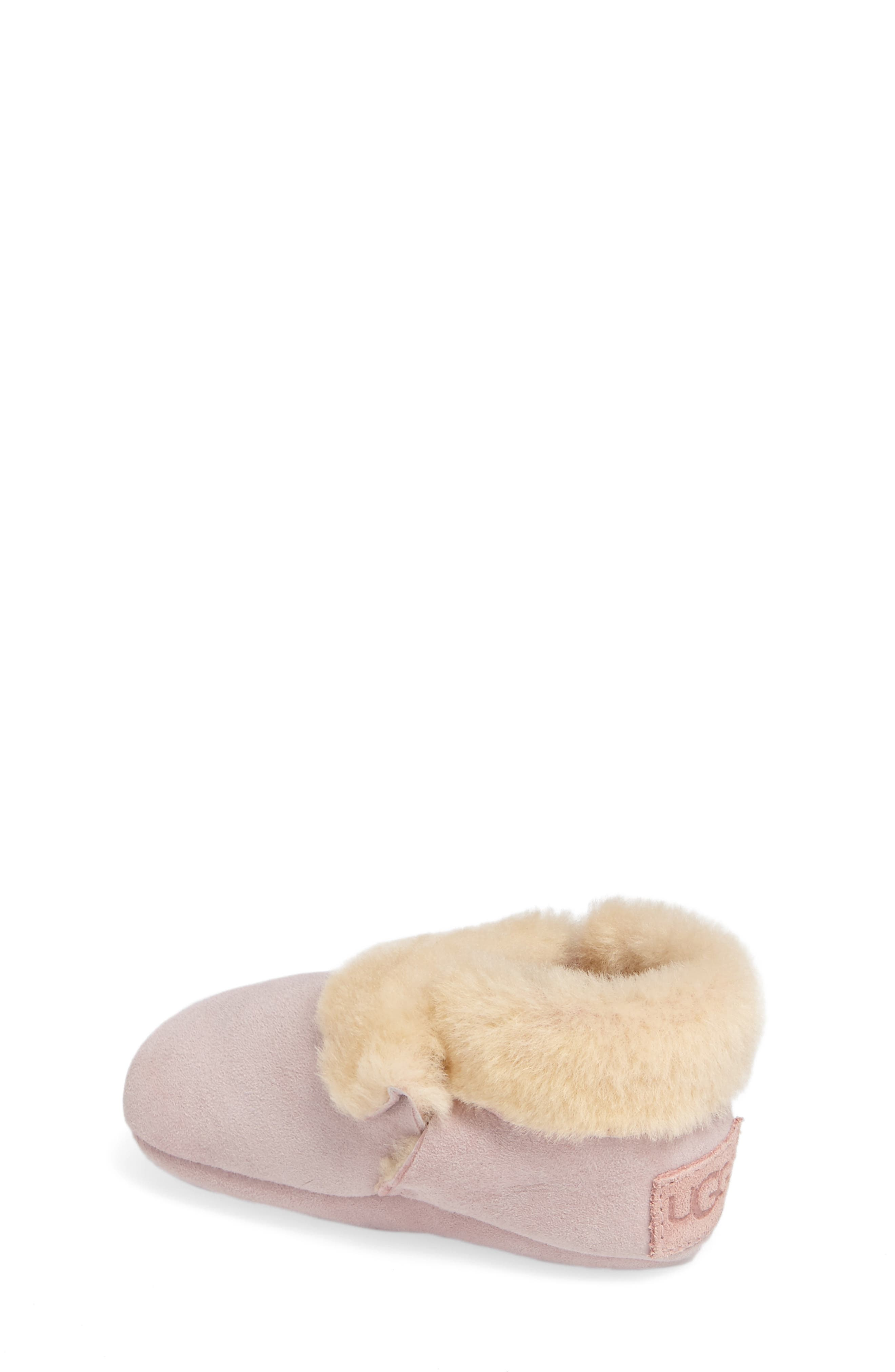Solvi Genuine Shearling Low Cuffed Bootie,                             Alternate thumbnail 2, color,                             650