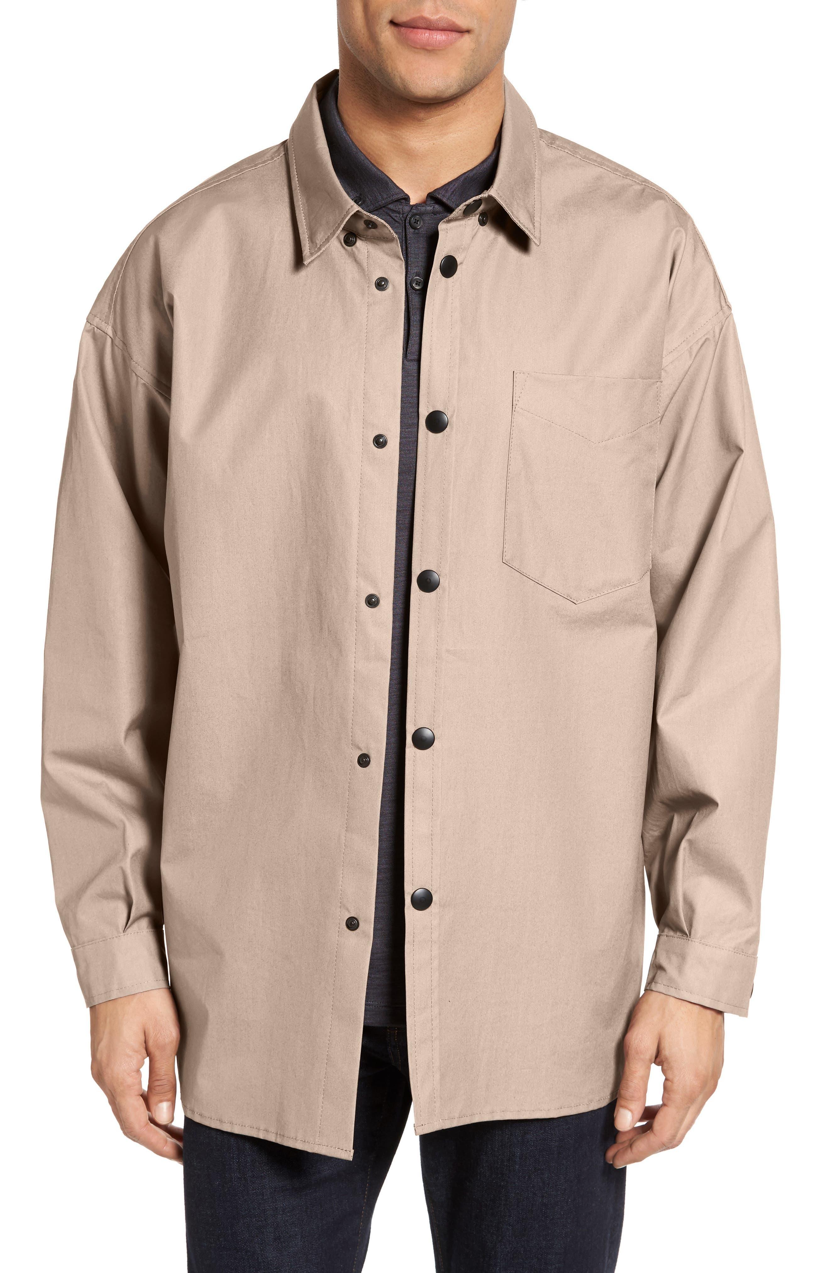 Lerum Relaxed Fit Shirt Jacket,                             Main thumbnail 3, color,