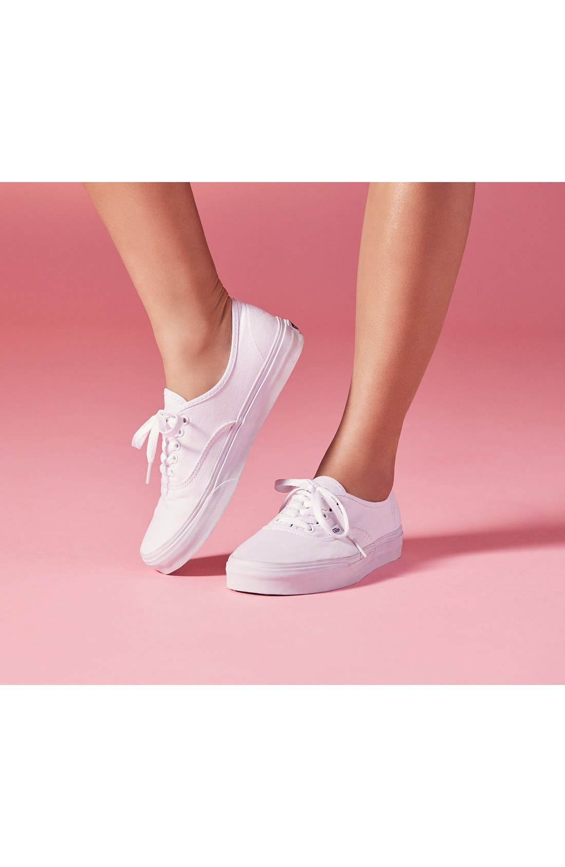 'Authentic' Sneaker,                             Alternate thumbnail 9, color,                             PINK LEMONADE/ MARSHMALLOW