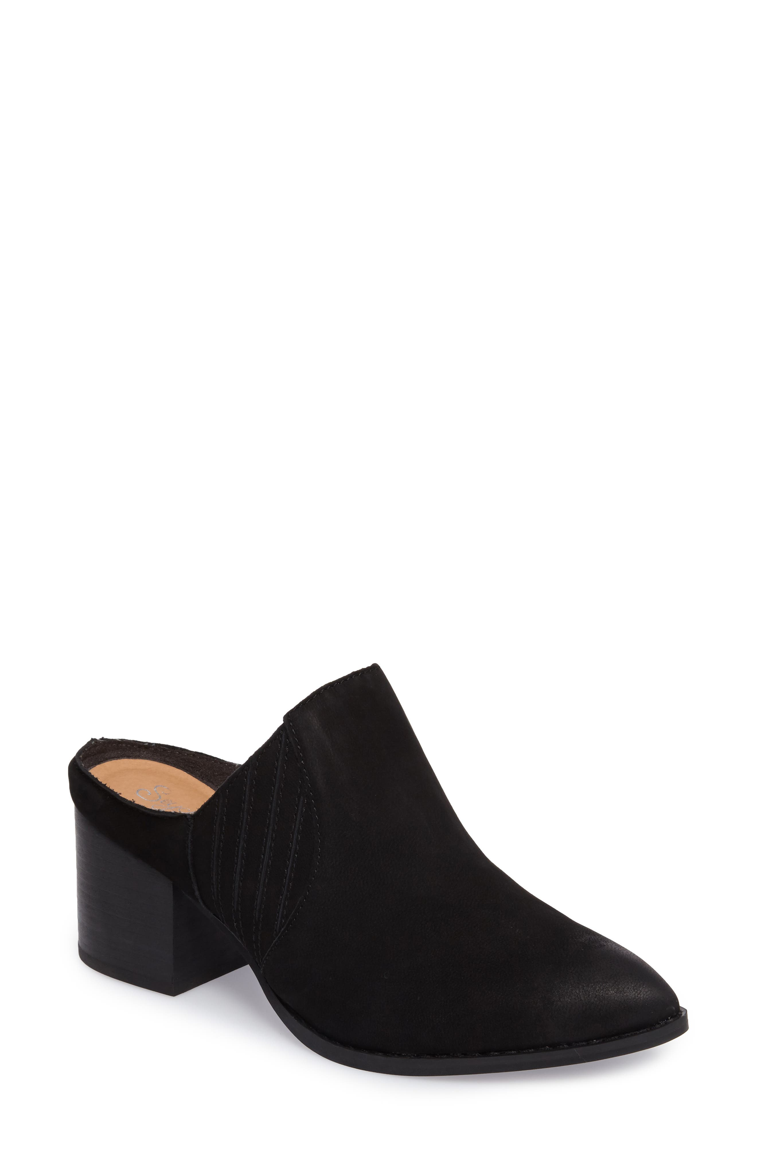 Dialogue Pointy Toe Mule,                         Main,                         color, 001