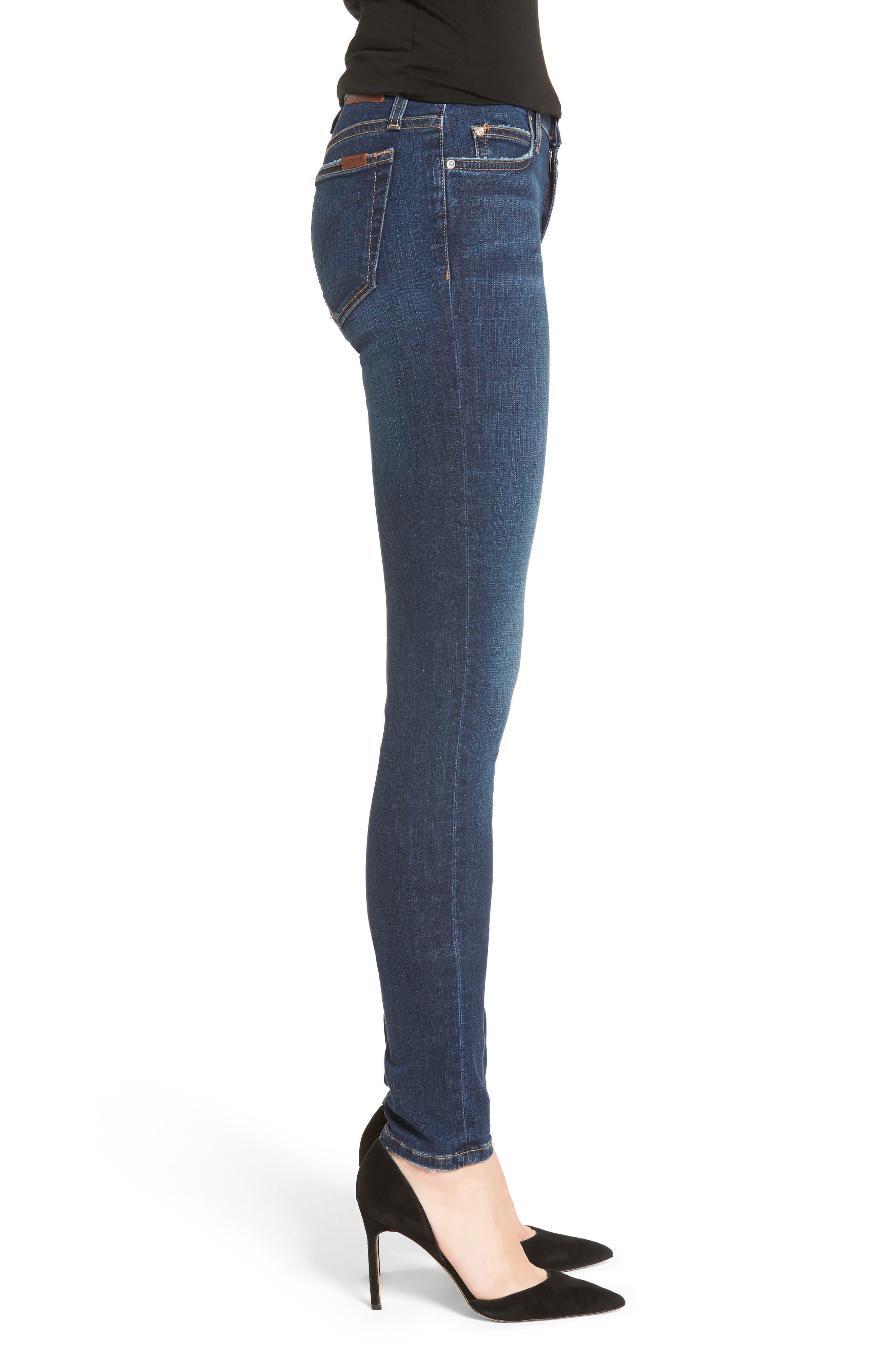 Flawless - Honey Curvy Skinny Jeans,                             Alternate thumbnail 3, color,                             TANIA
