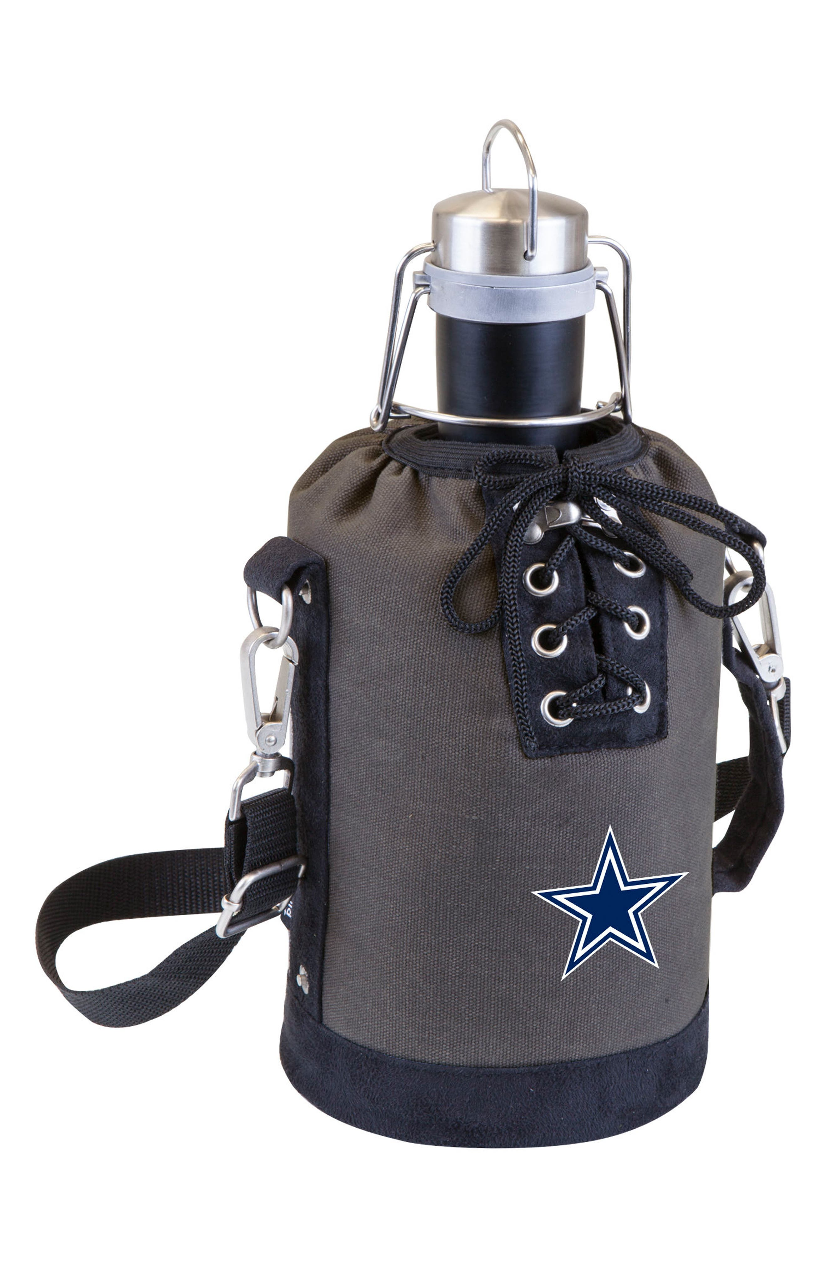 NFL Team Logo Tote & Stainless Steel Growler,                             Main thumbnail 9, color,
