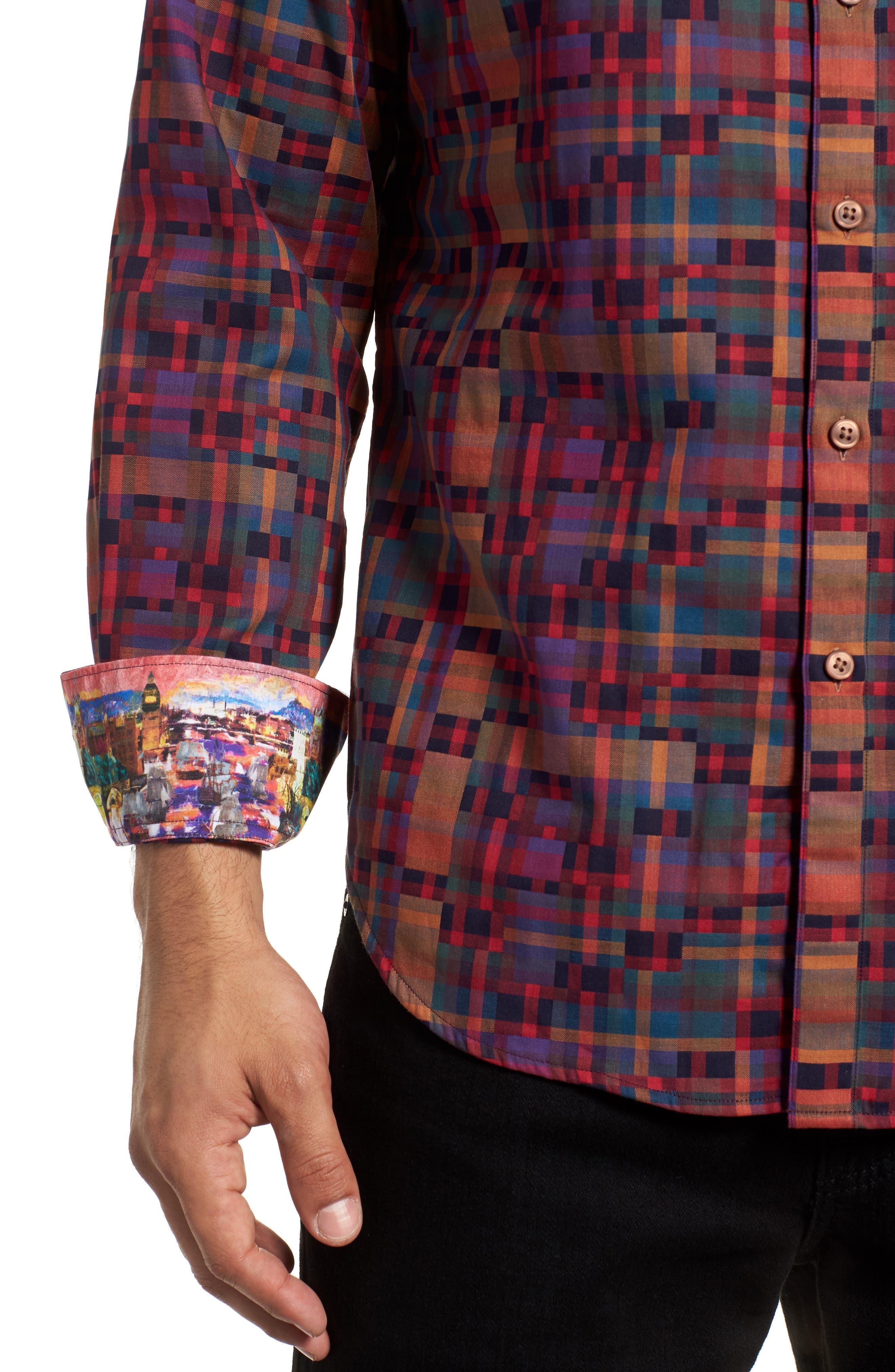 Nash Classic Fit Sport Shirt,                             Alternate thumbnail 2, color,                             MULTI