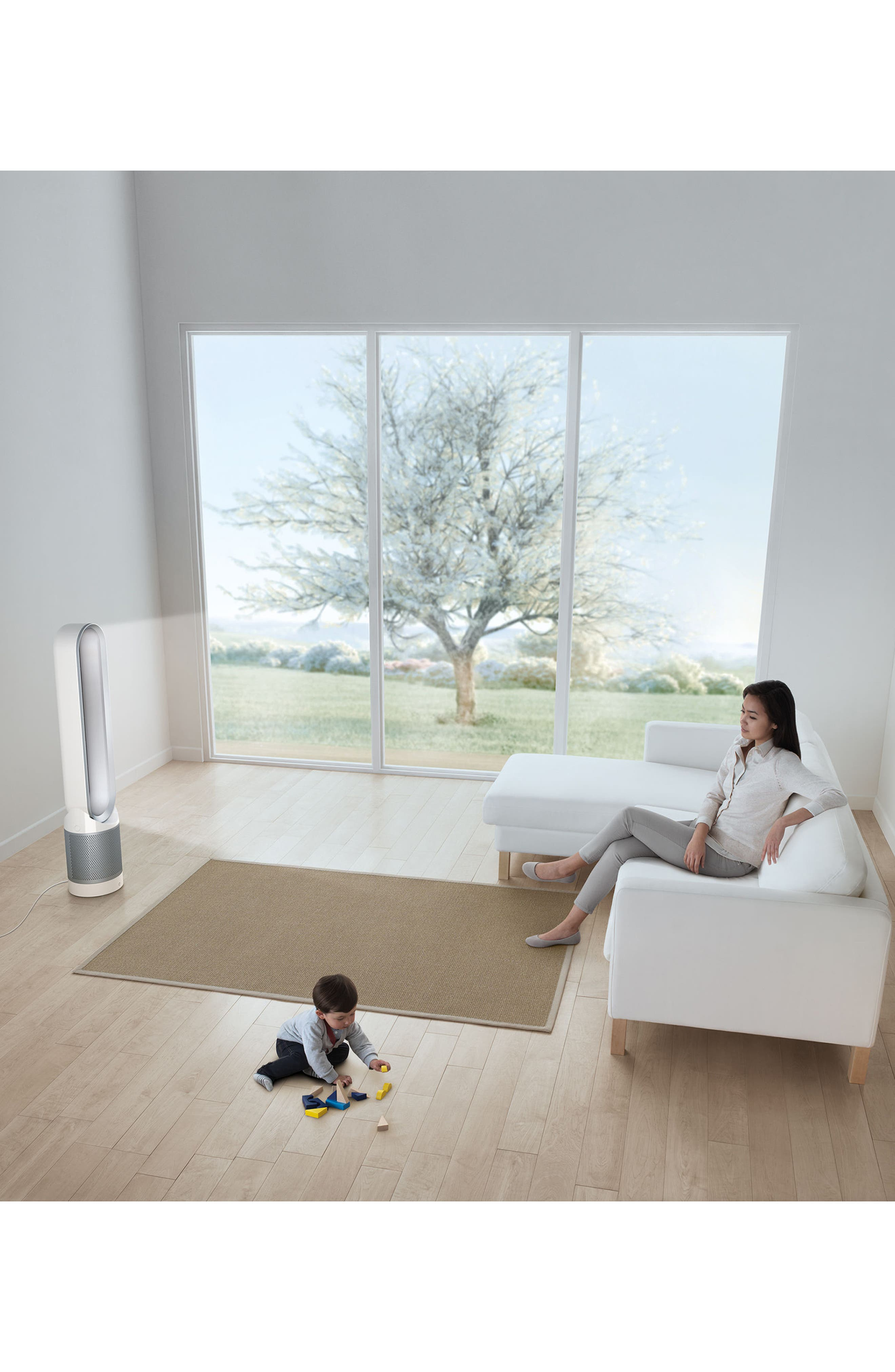 Pure Hot + Cool Link Air Purifier,                             Alternate thumbnail 3, color,                             100