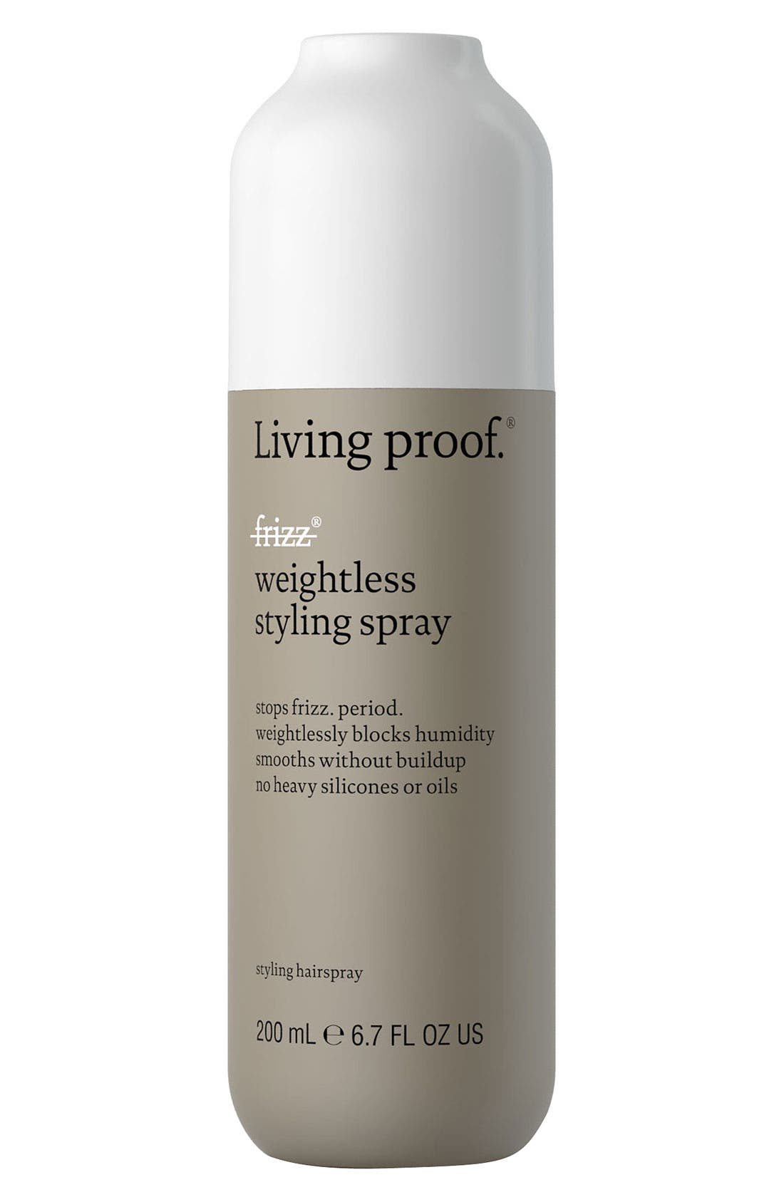 No Frizz Weightless Styling Spray,                             Main thumbnail 1, color,                             NO COLOR