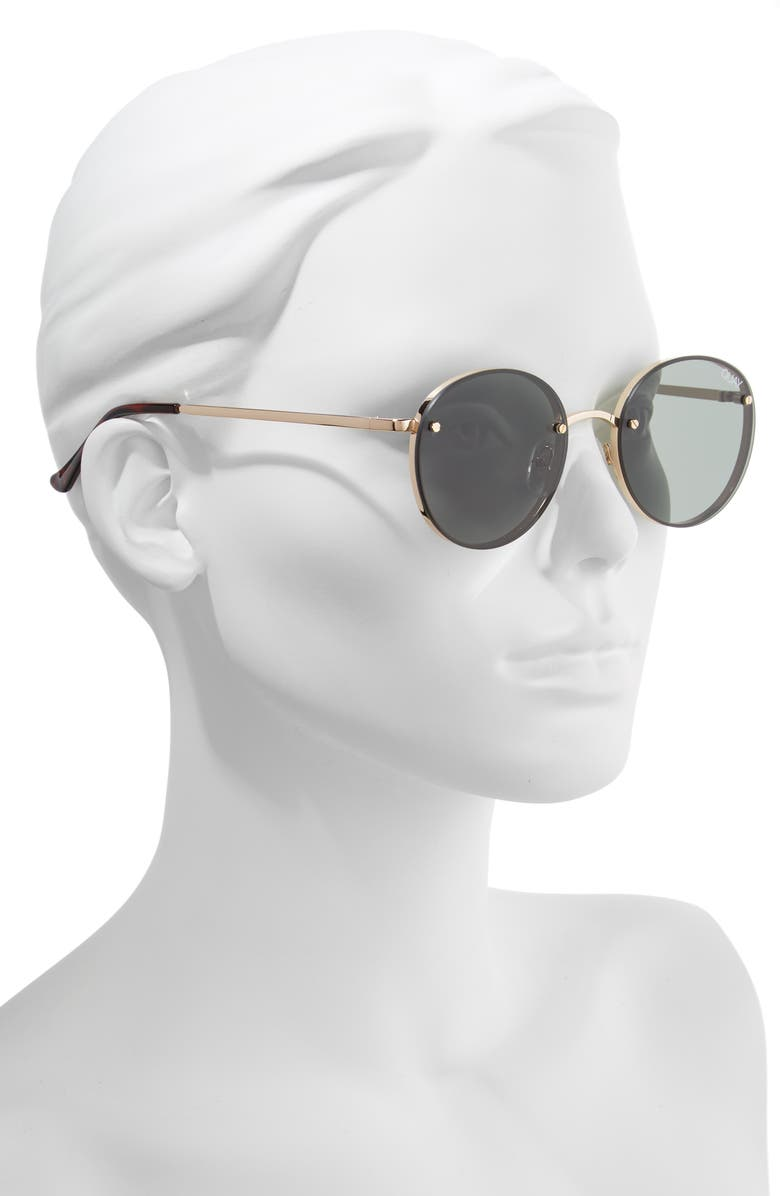 2819eca842a Quay Australia x Elle Ferguson Farrah 53mm Round Sunglasses