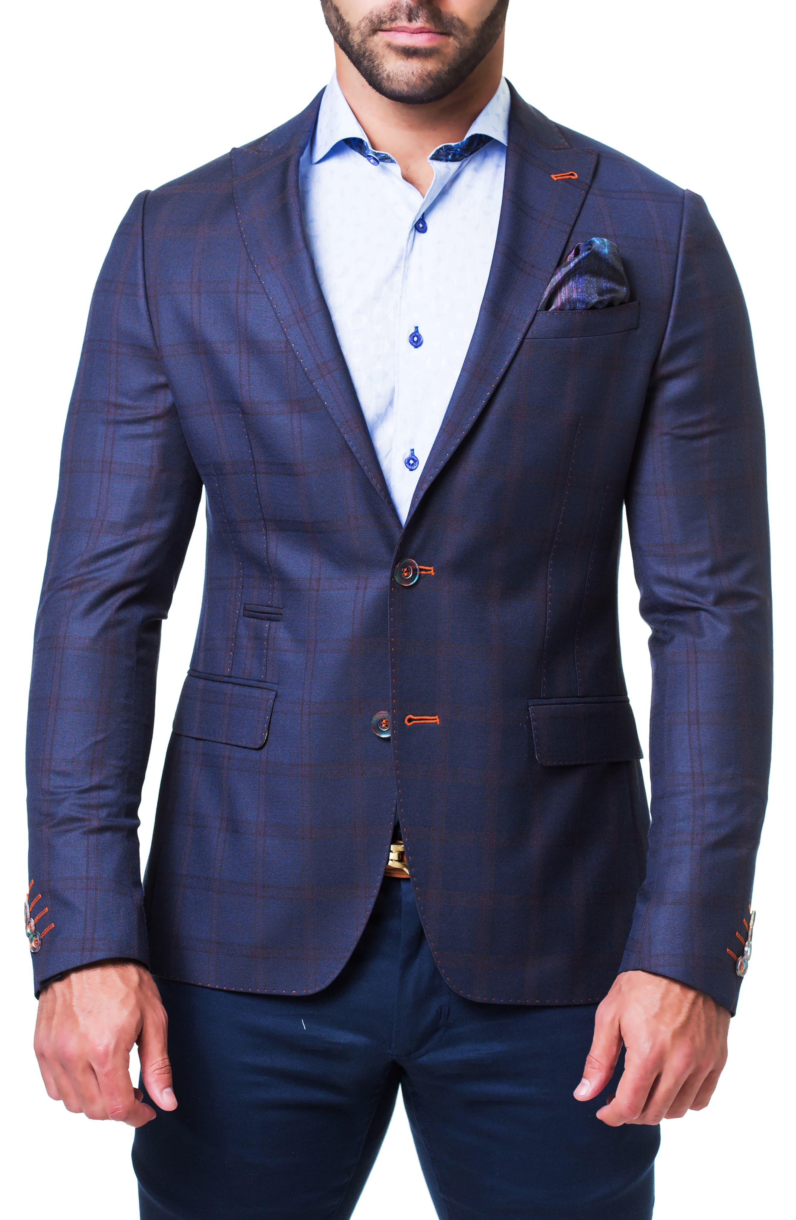 Dapper Sport Coat,                         Main,                         color, BLUE
