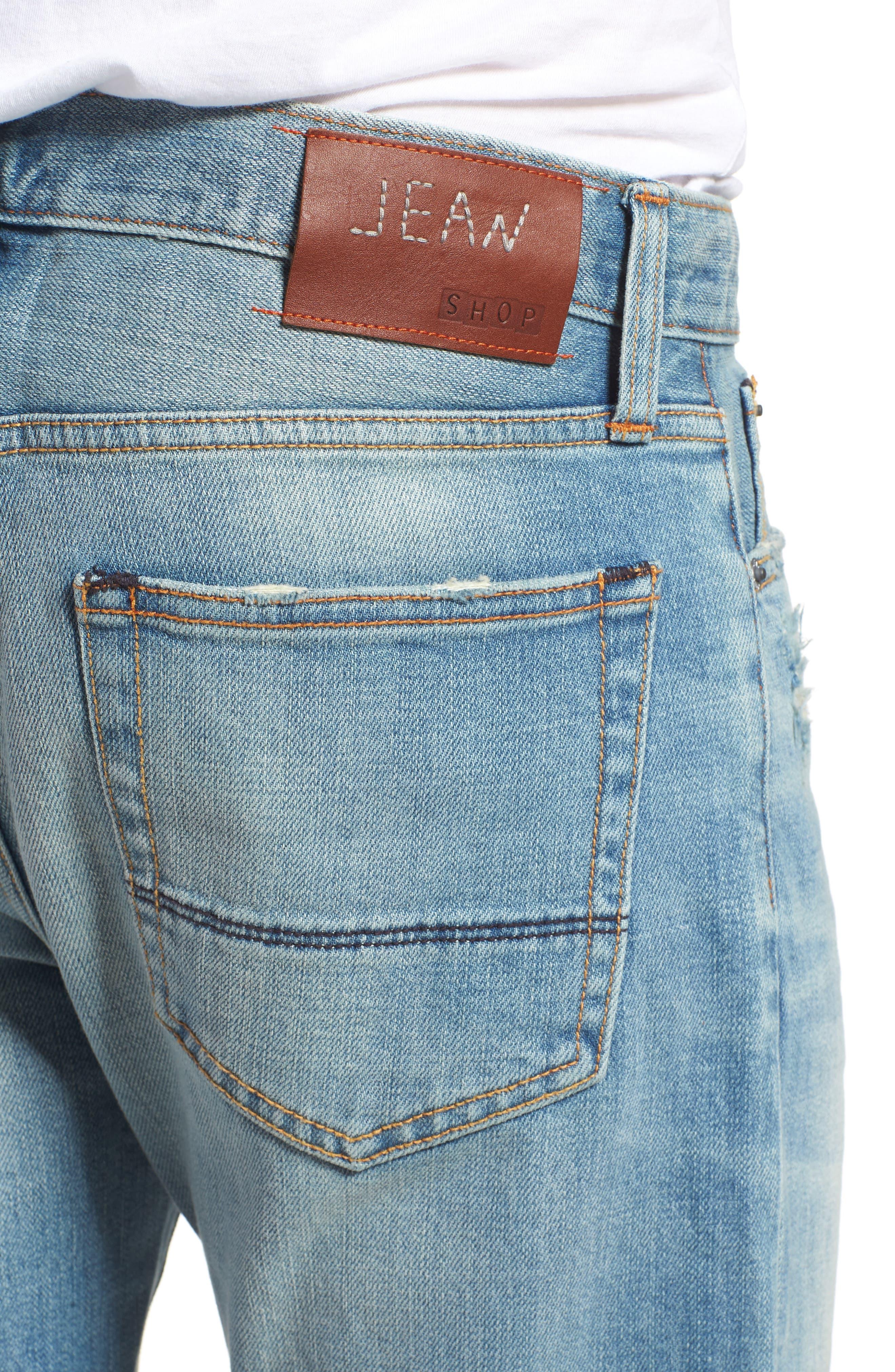 Jim Slim Fit Jeans,                             Alternate thumbnail 4, color,                             HOLLIS