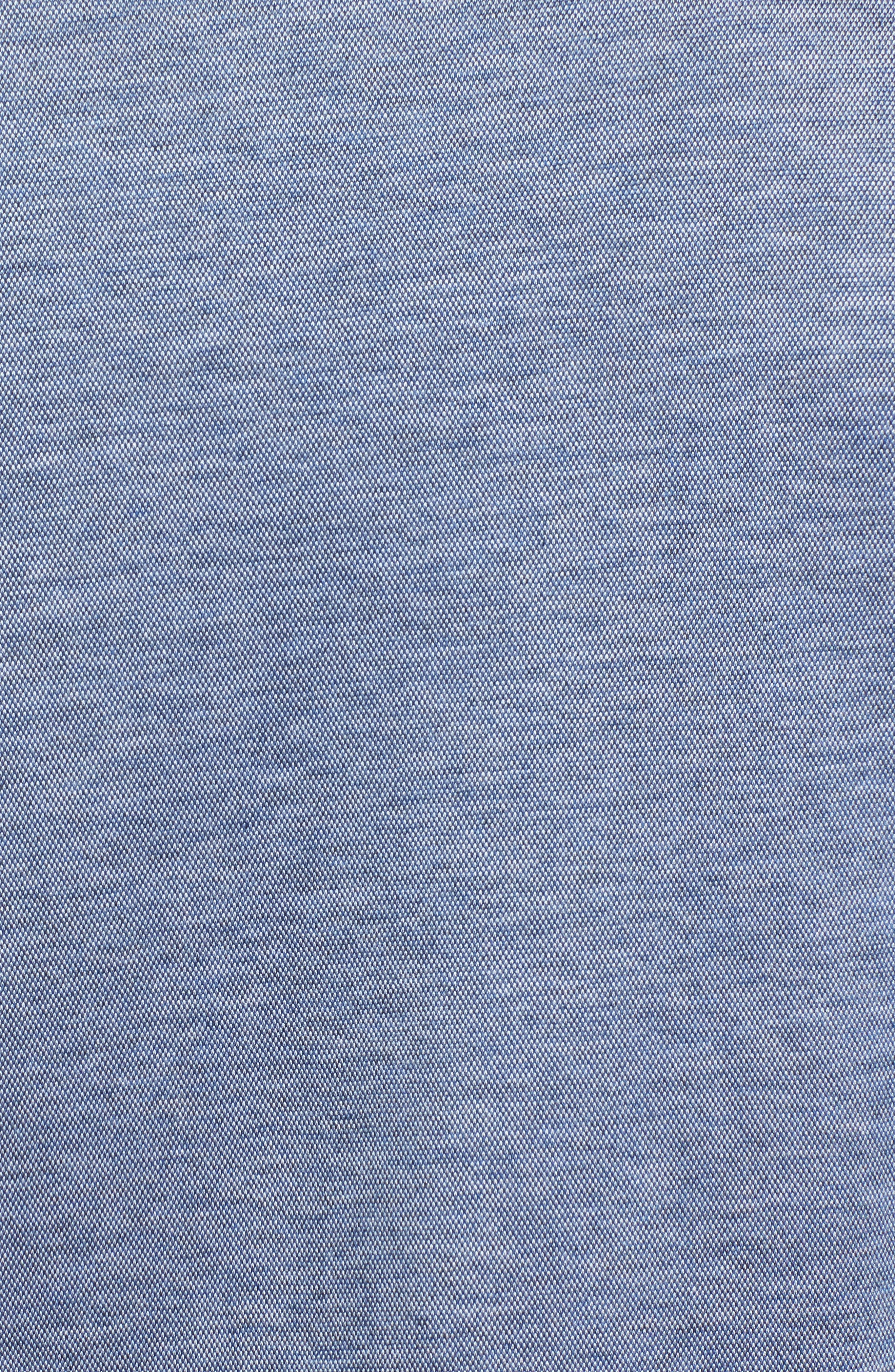 Regular Fit Silk Blend Sport Shirt,                             Alternate thumbnail 23, color,