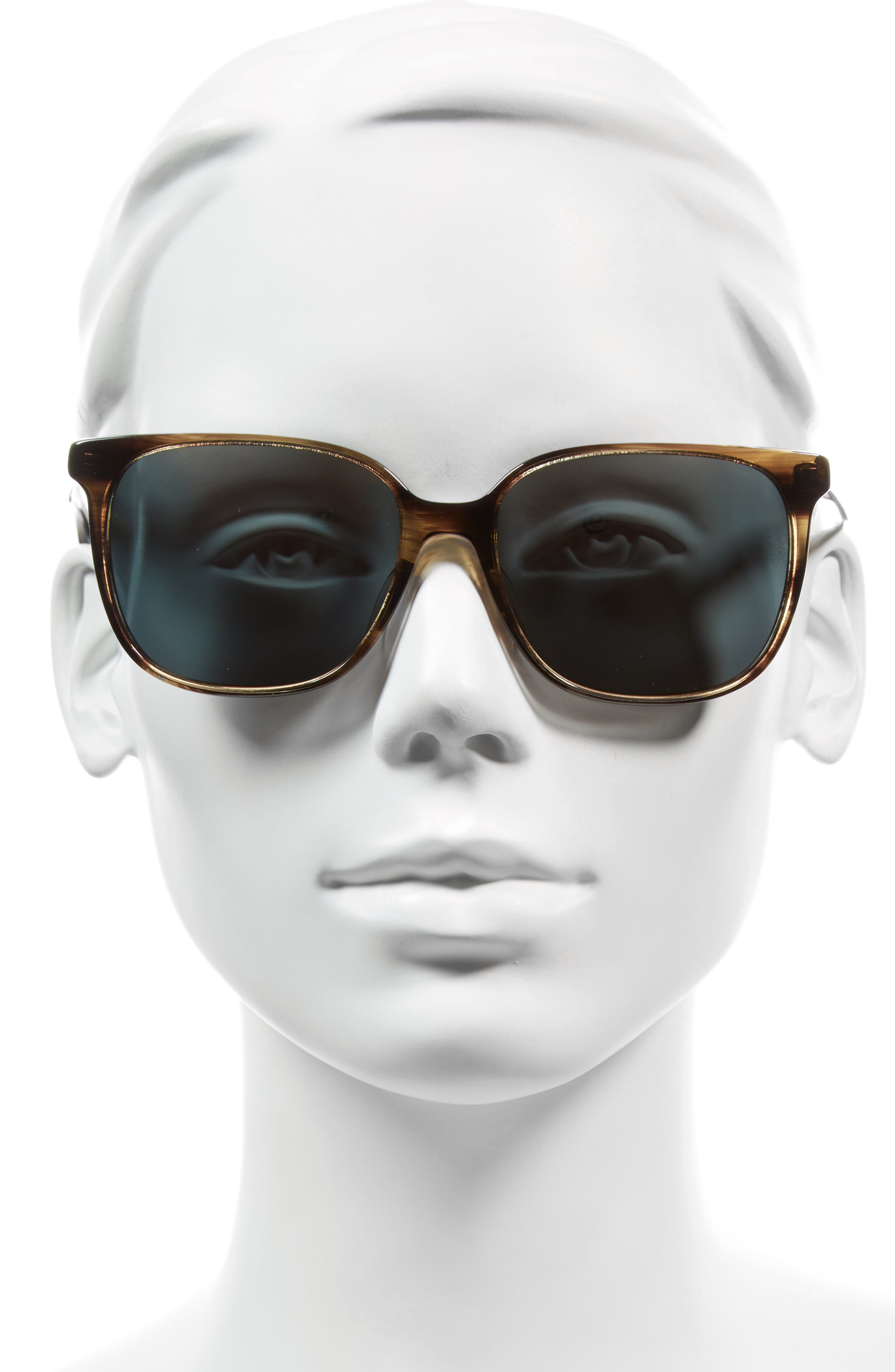 Kintner 55mm Polarized Cat Eye Sunglasses,                             Alternate thumbnail 6, color,