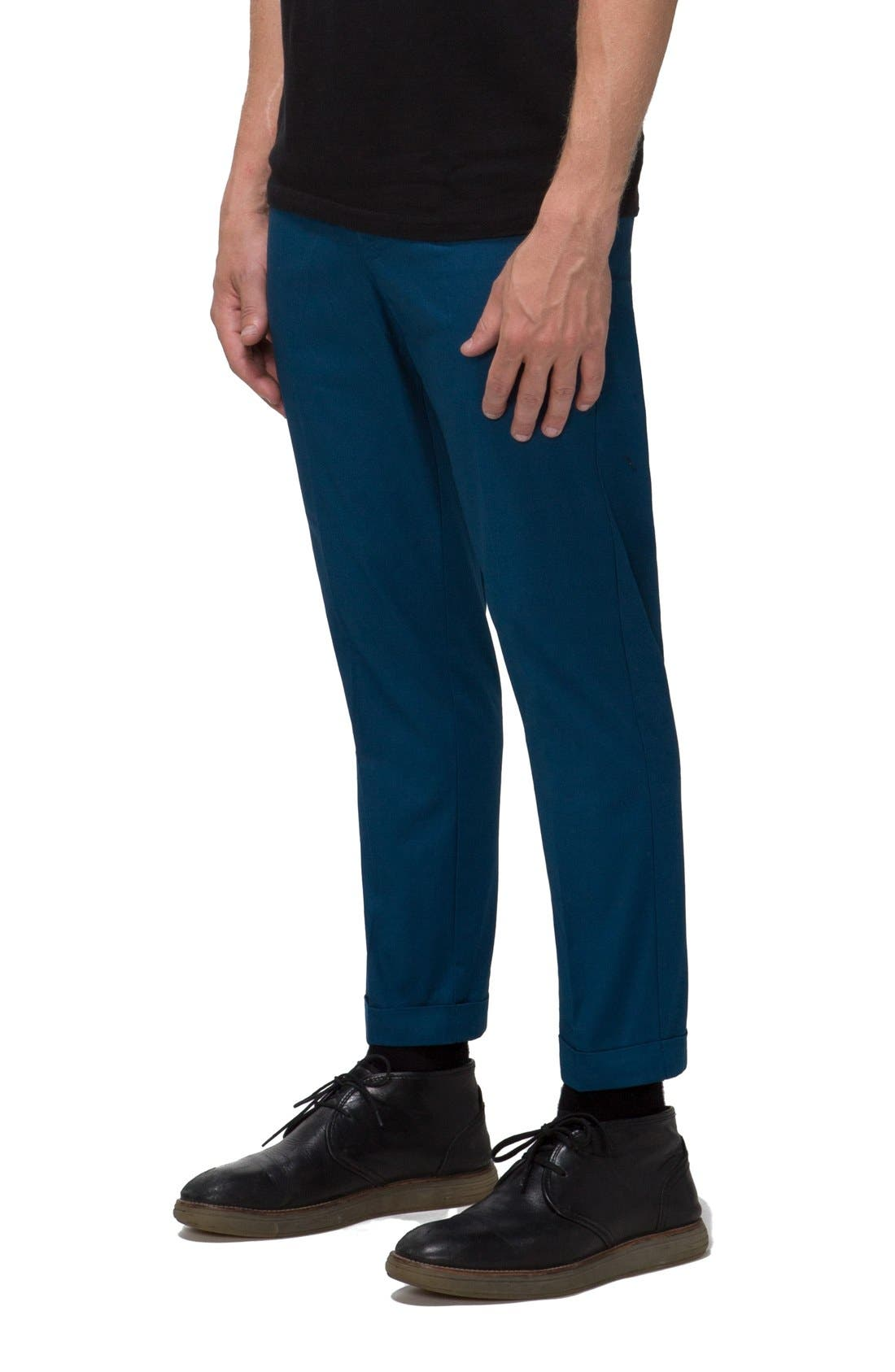 'Arroyo' Crop Stretch Chinos,                             Alternate thumbnail 15, color,