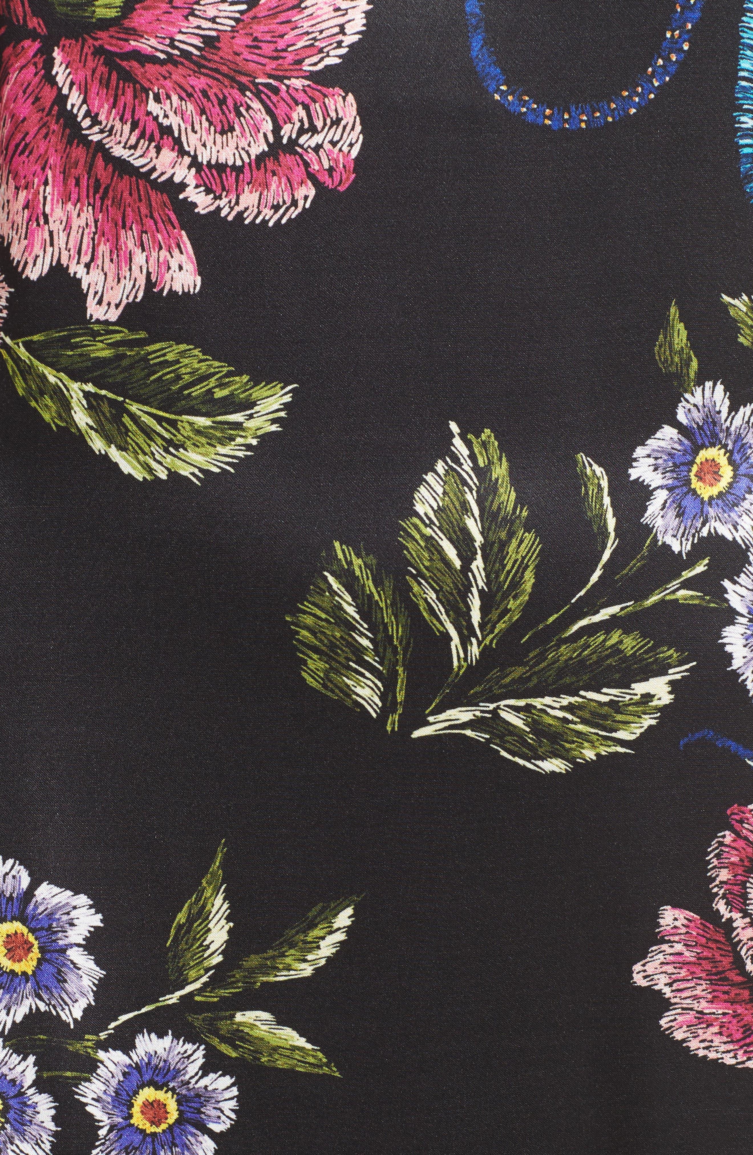 Florence Ruffle Maxi Dress,                             Alternate thumbnail 5, color,
