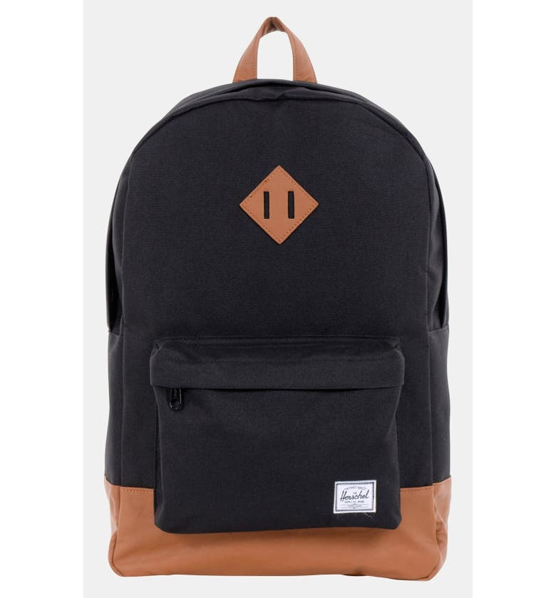 5543a90c9f  Heritage Plus  Leather Trim Backpack