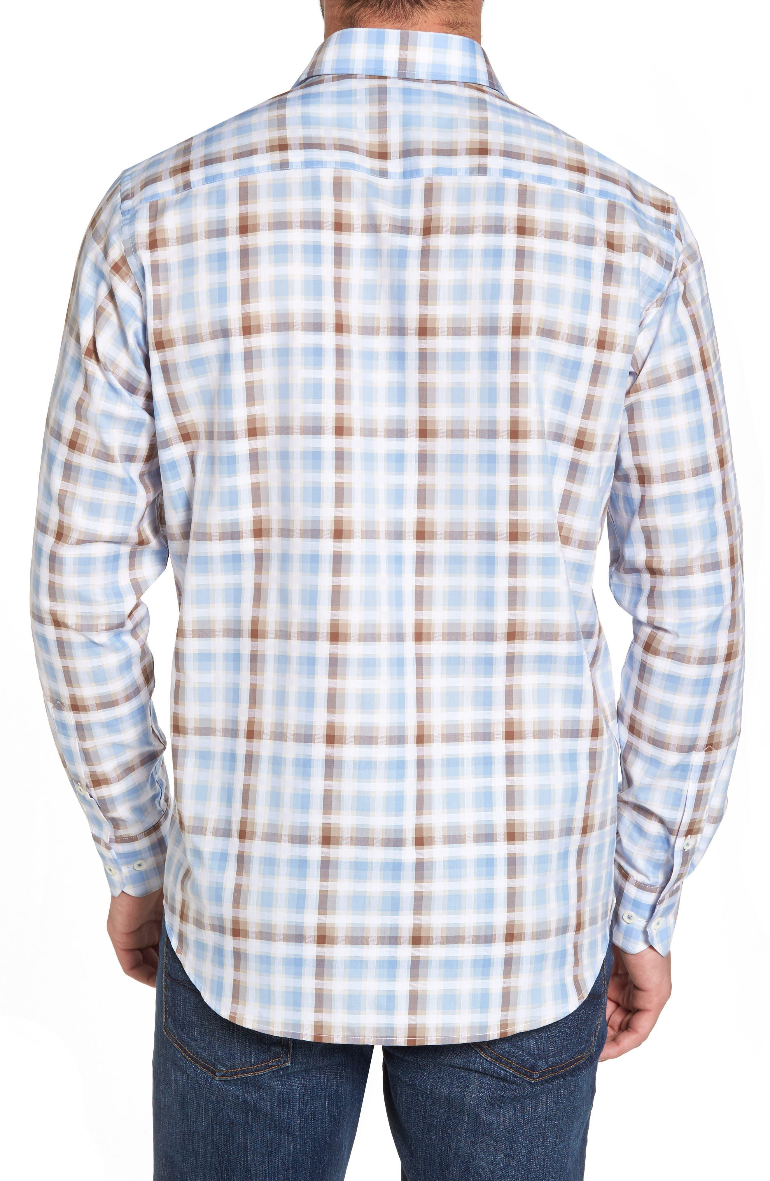 Regular Fit Check Sport Shirt,                             Alternate thumbnail 2, color,                             208