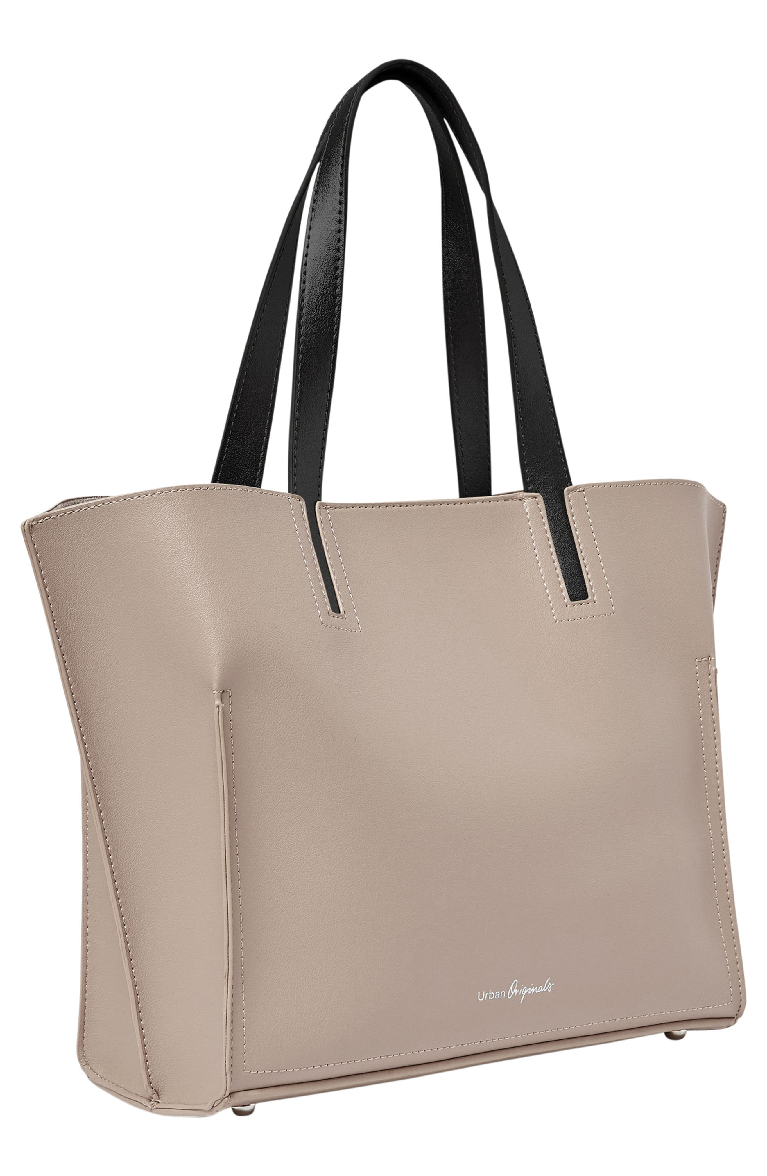 Obsession Vegan Leather Tote,                             Alternate thumbnail 8, color,