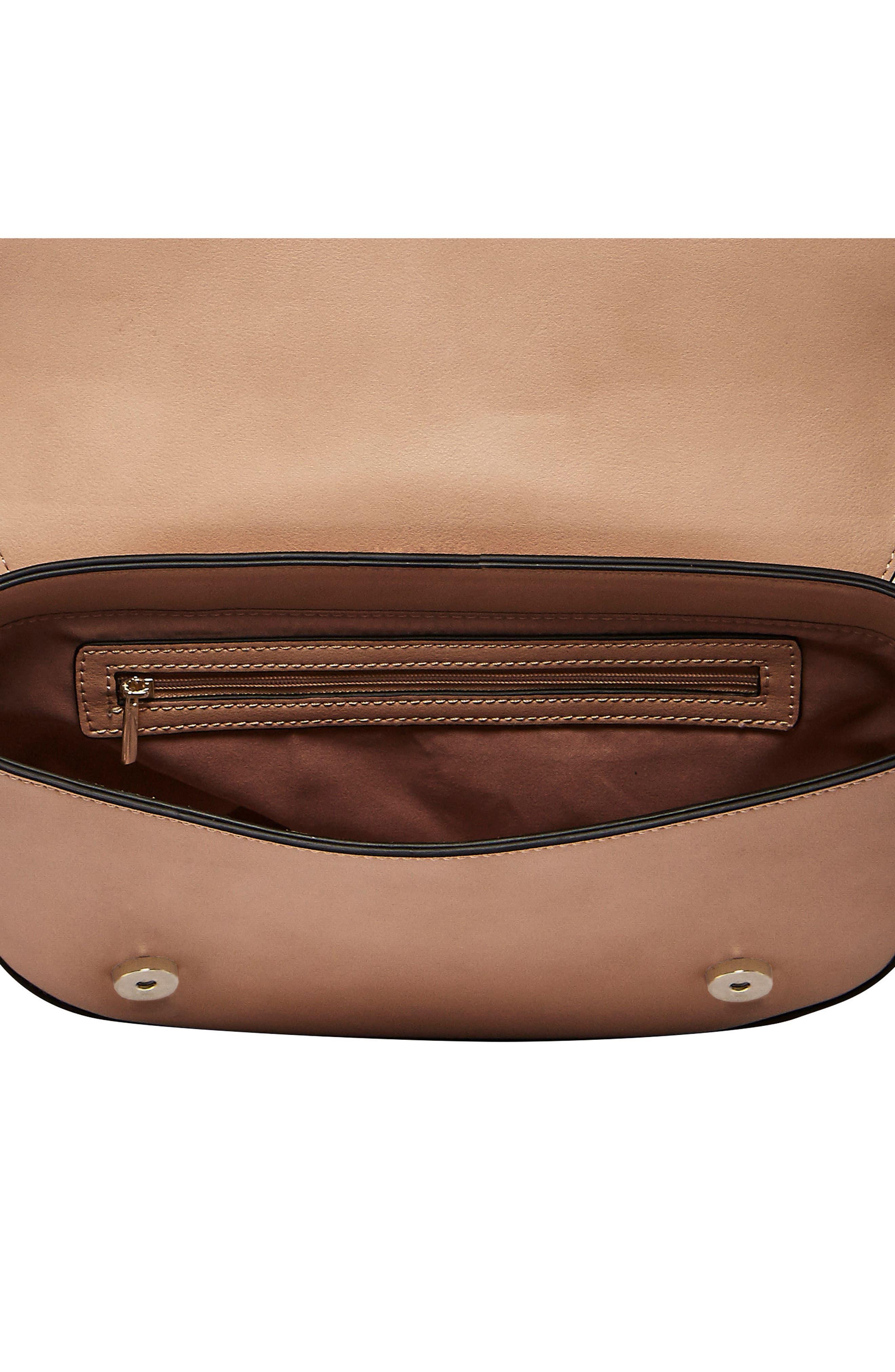 Loved Vegan Leather Crossbody Bag,                             Alternate thumbnail 6, color,