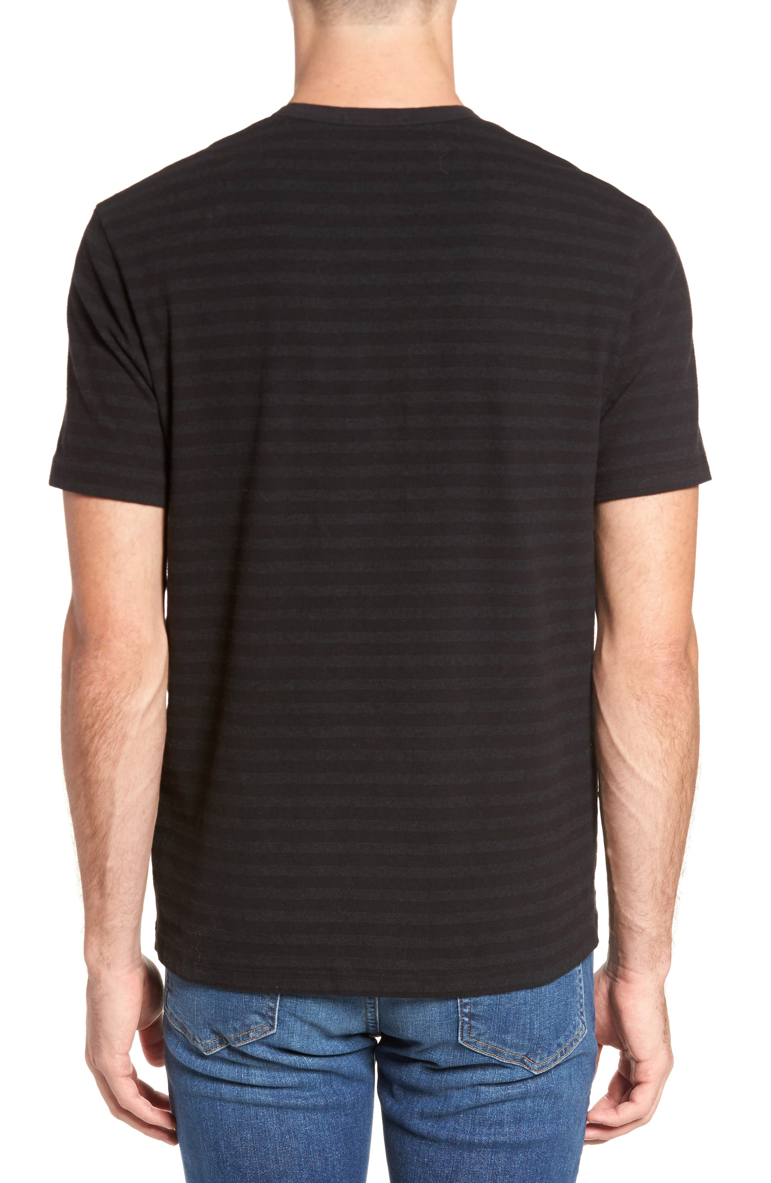 Shadow Stripe Pocket T-Shirt,                             Alternate thumbnail 2, color,                             020