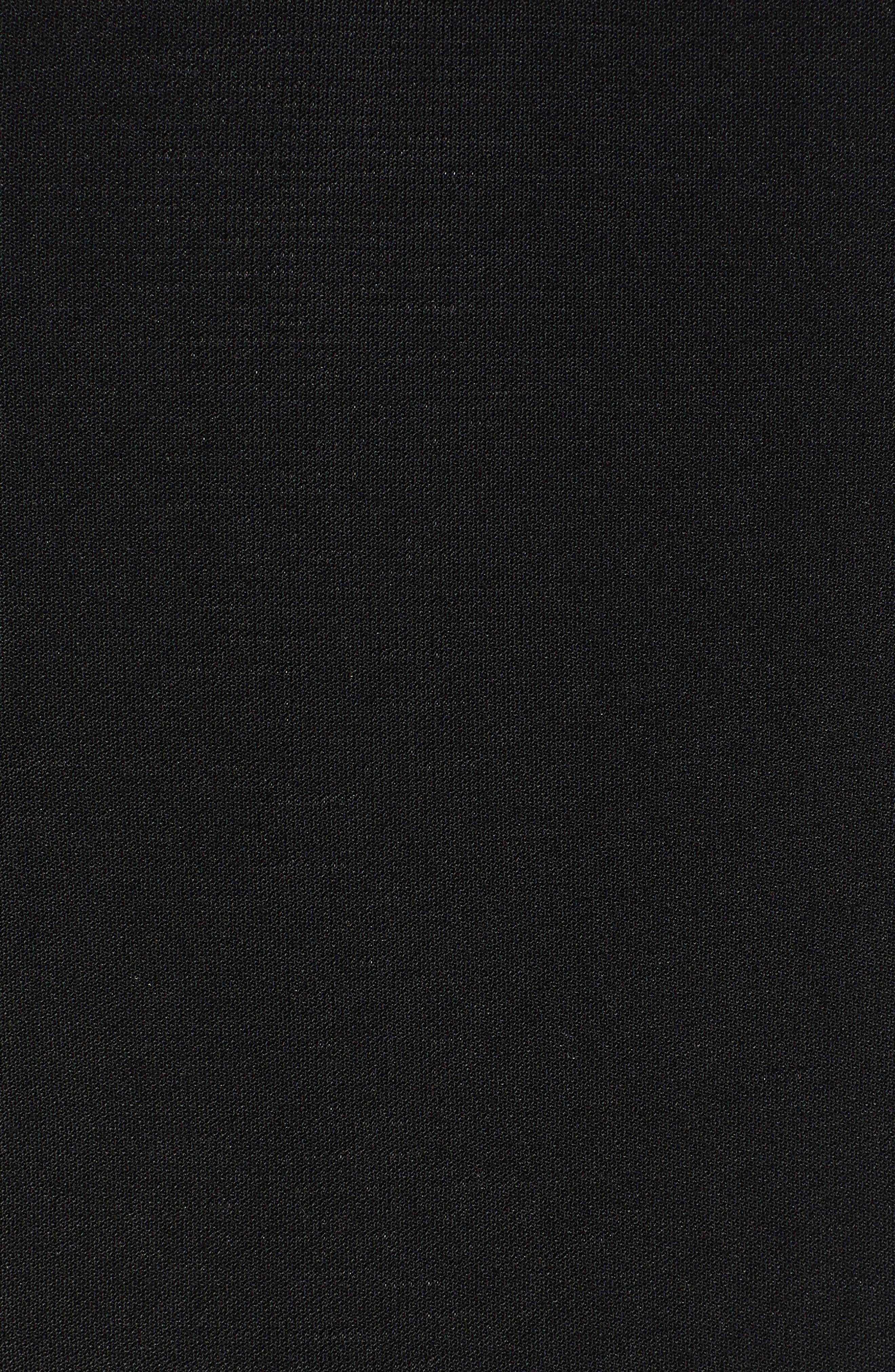Single Button Blazer,                             Alternate thumbnail 7, color,                             BLACK