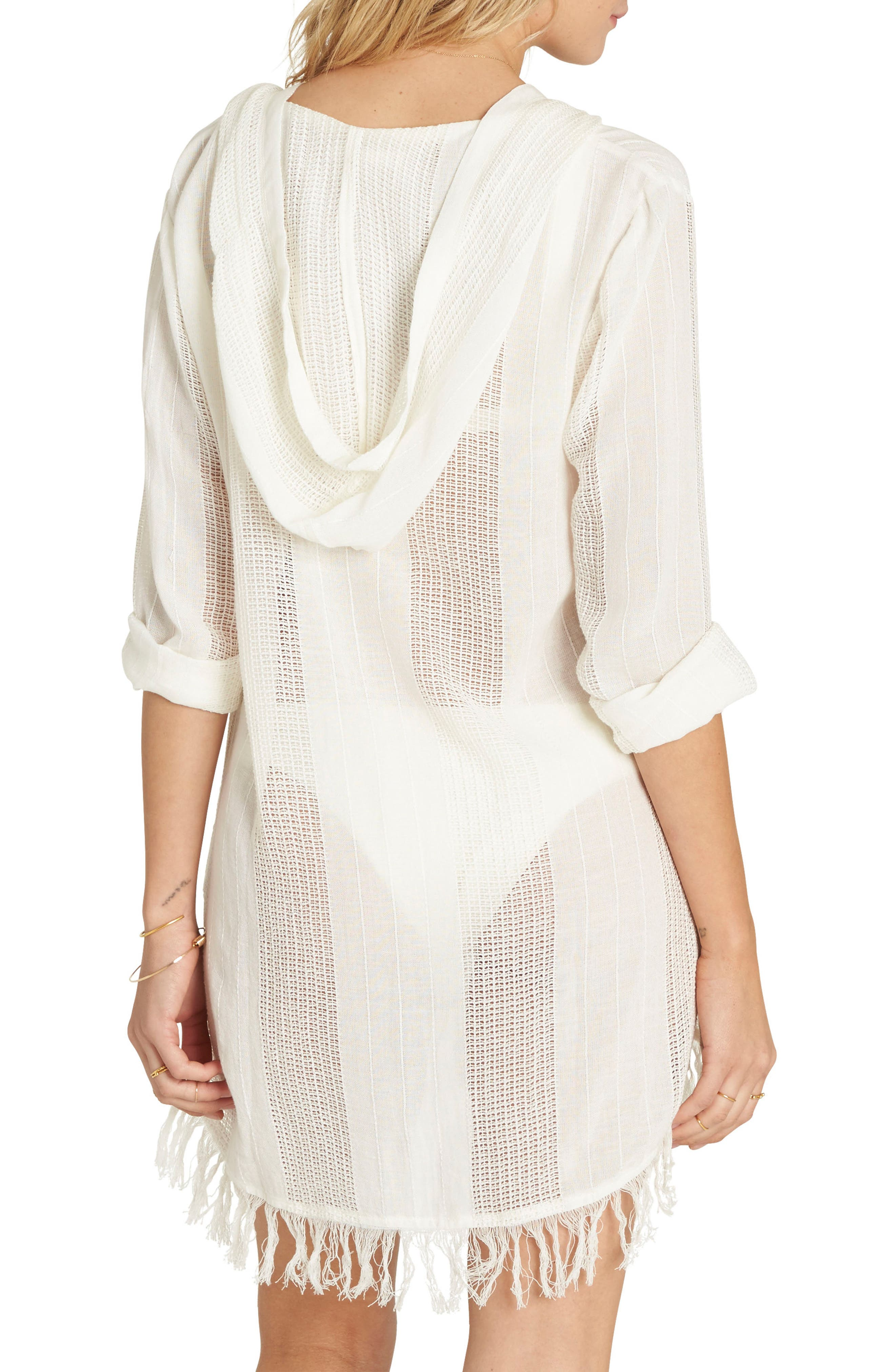 Babe Side Cover-Up Dress,                             Alternate thumbnail 3, color,
