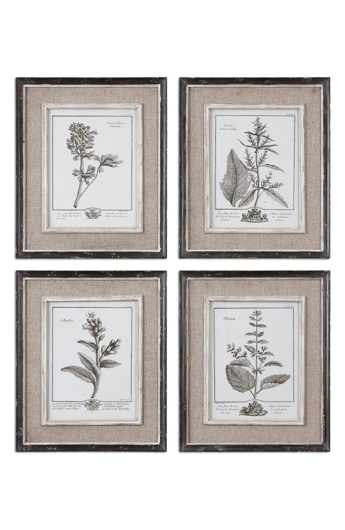 'Casual Grey Study' Wall Art,                             Main thumbnail 1, color,                             WHITE