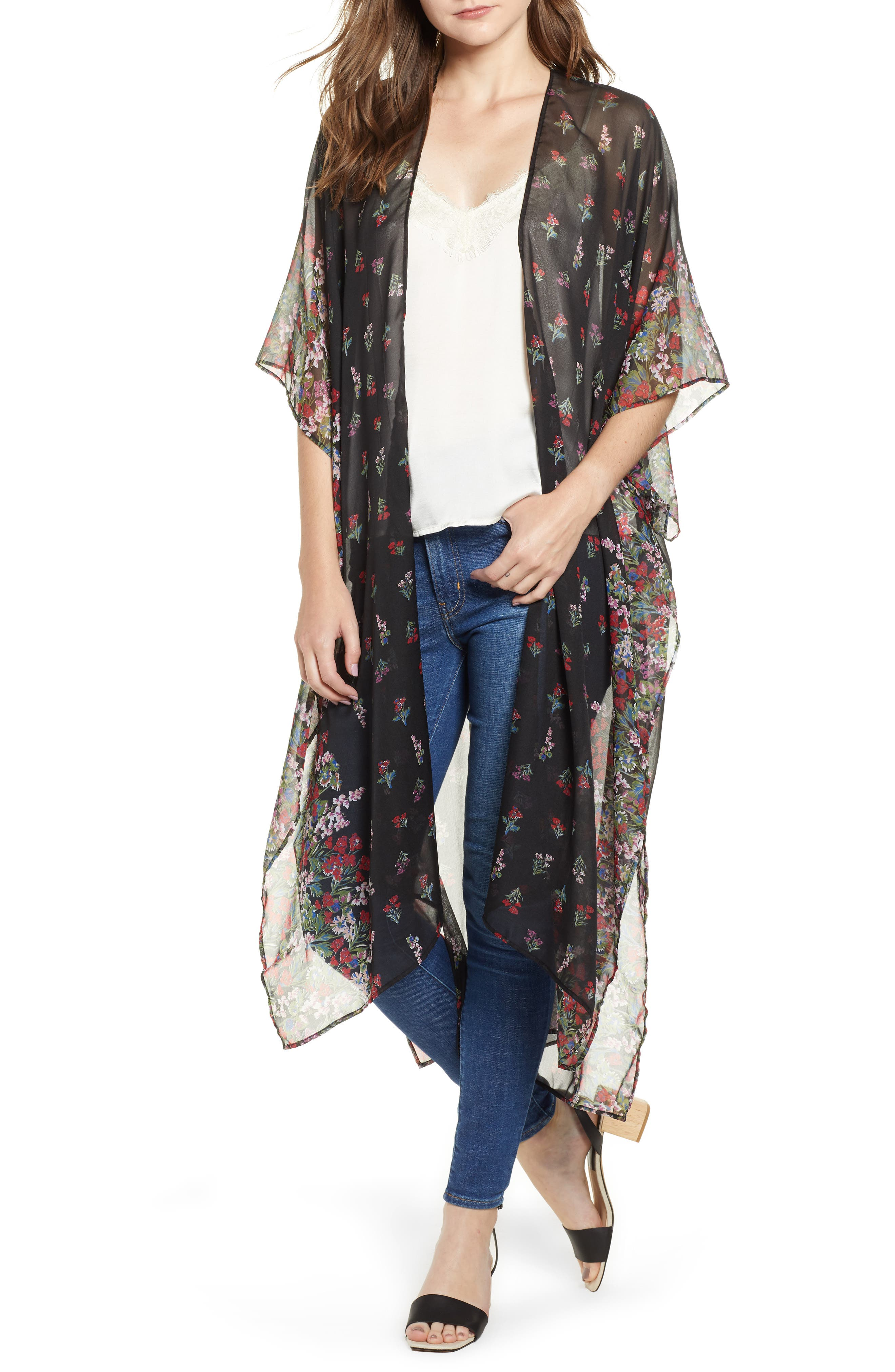 Wildflower Duster,                         Main,                         color, 001