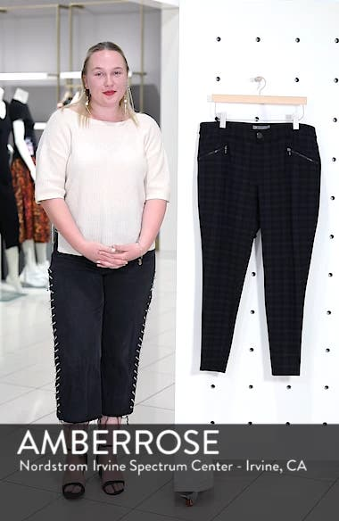 Ab-solution Zip Pocket Skinny Pants, sales video thumbnail