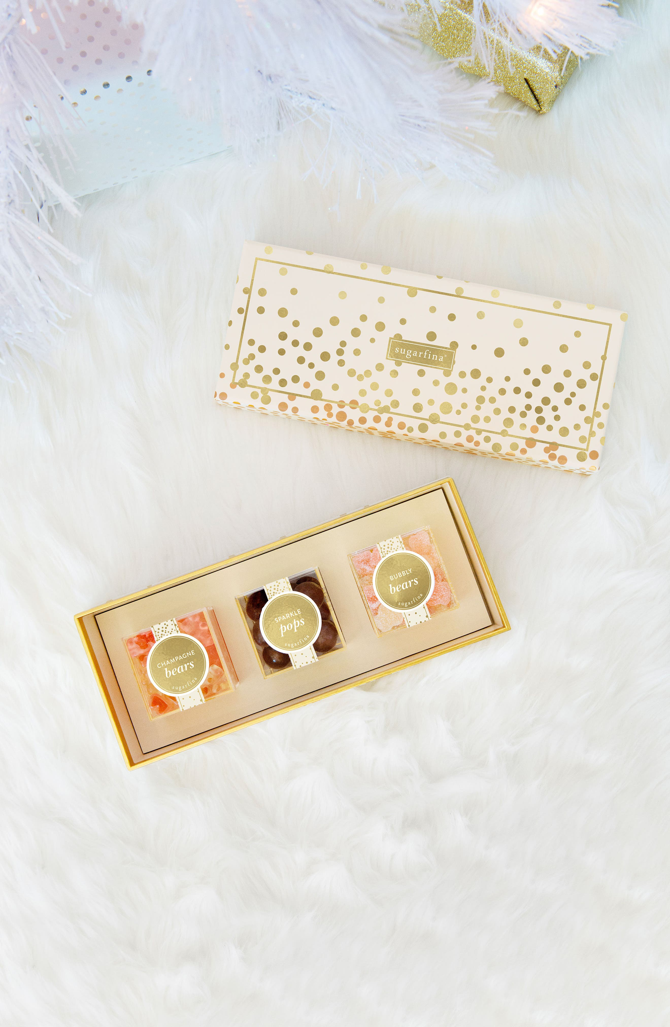 Sweet & Sparkling 3-Piece Candy Bento Box,                             Alternate thumbnail 4, color,                             250