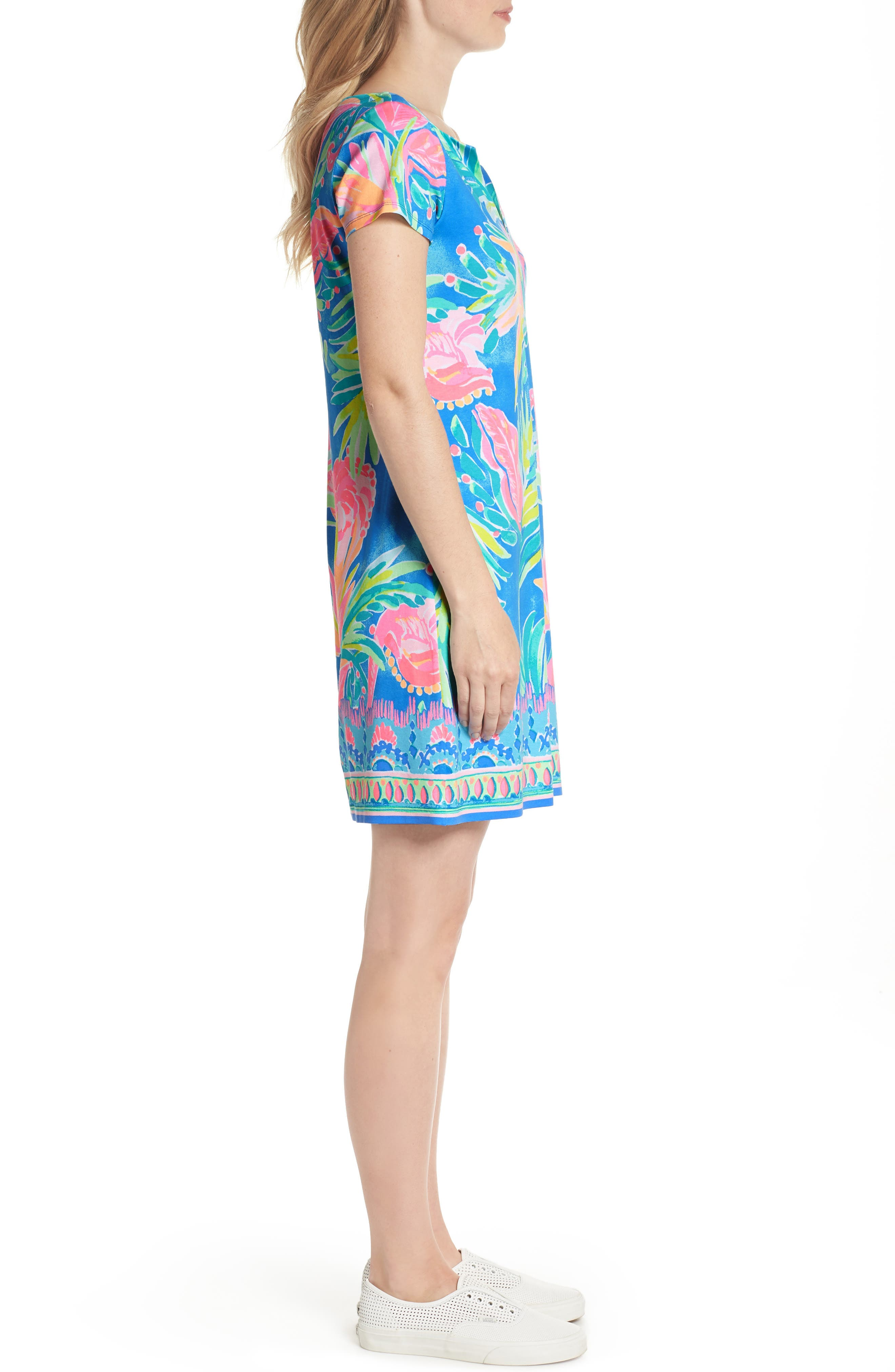 Sophiletta UPF 50+ Dress,                             Alternate thumbnail 3, color,                             420