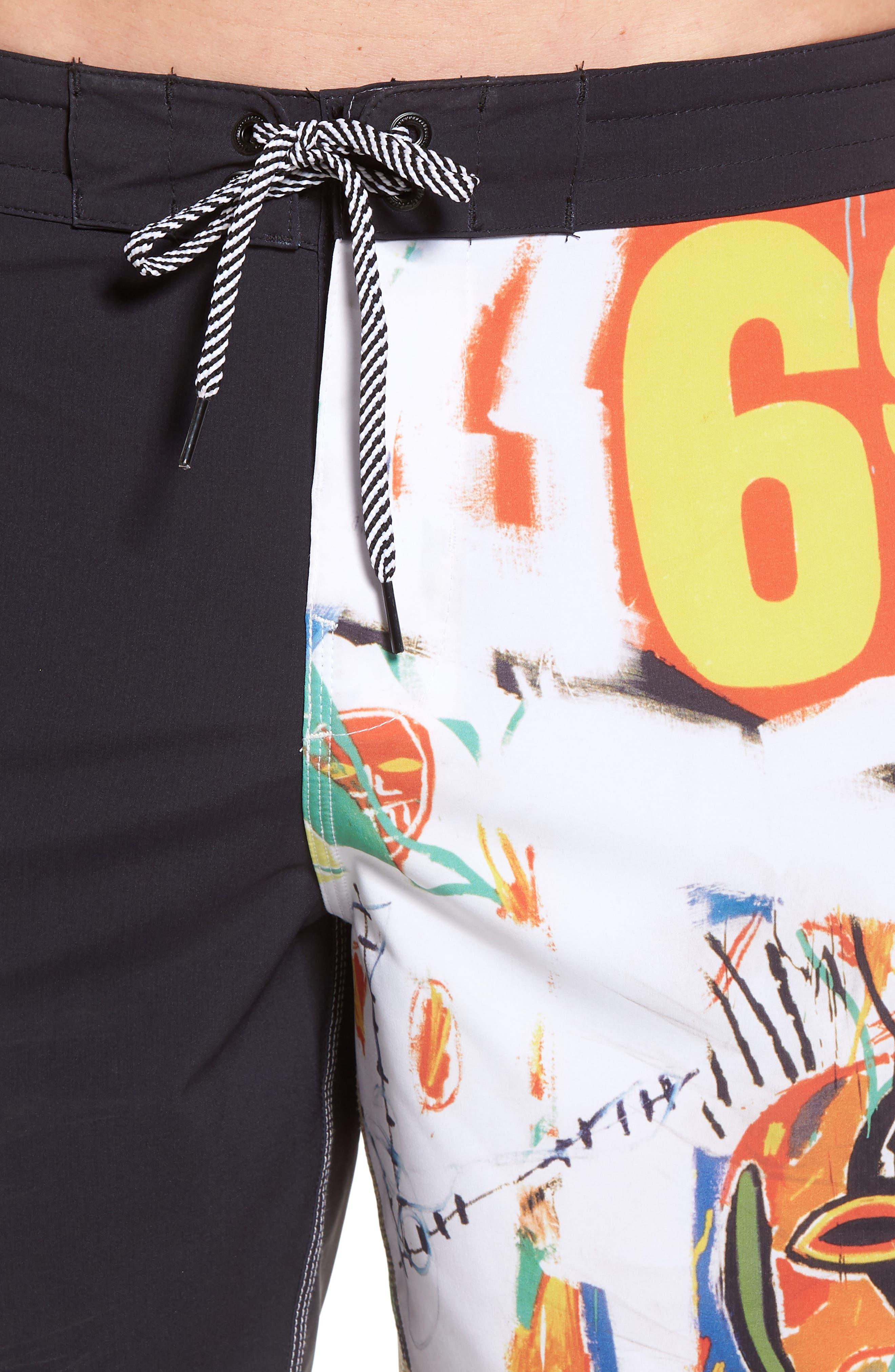 x Warhol 699 Board Shorts,                             Alternate thumbnail 4, color,                             100
