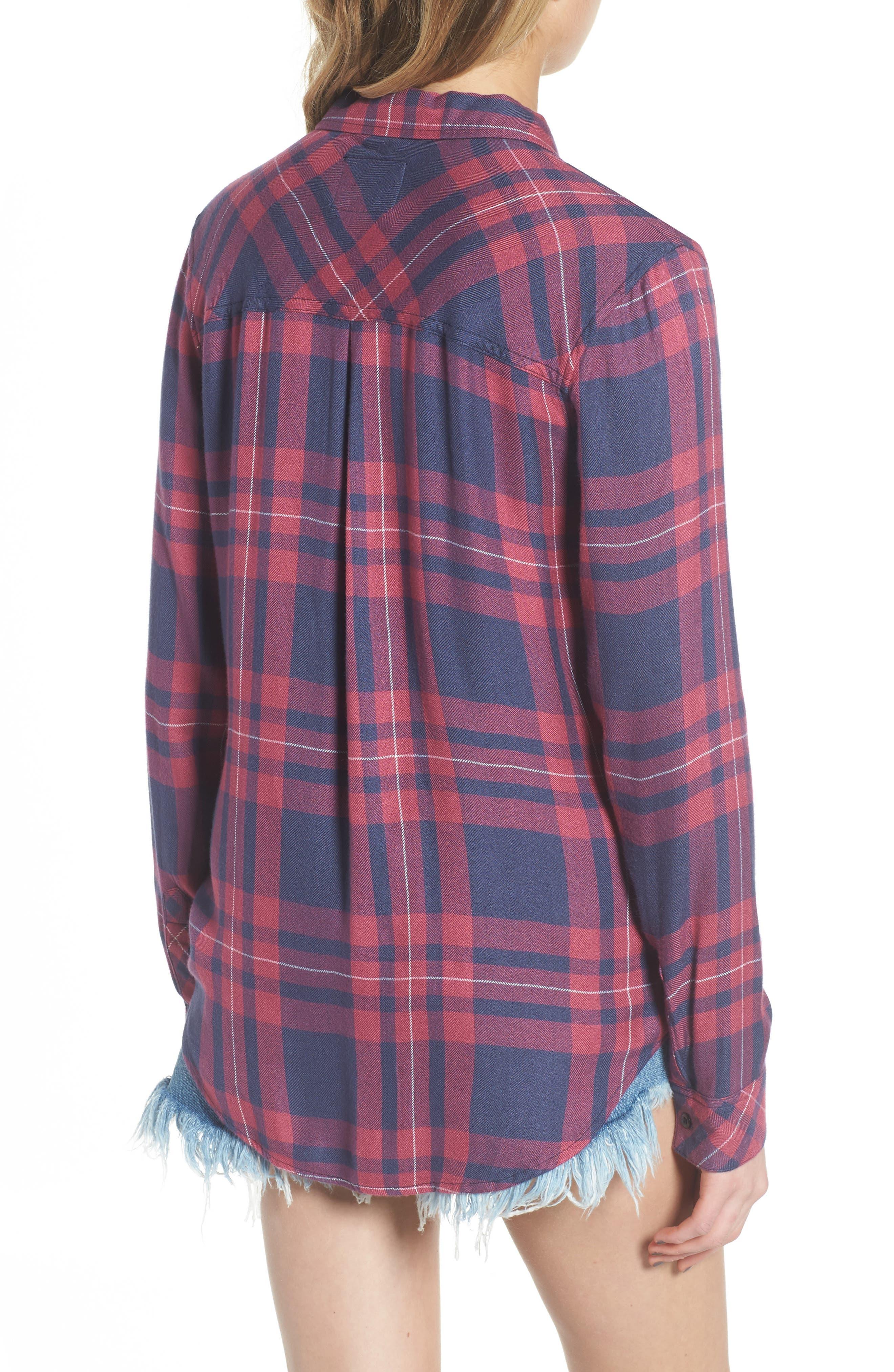 Hunter Plaid Shirt,                             Alternate thumbnail 221, color,
