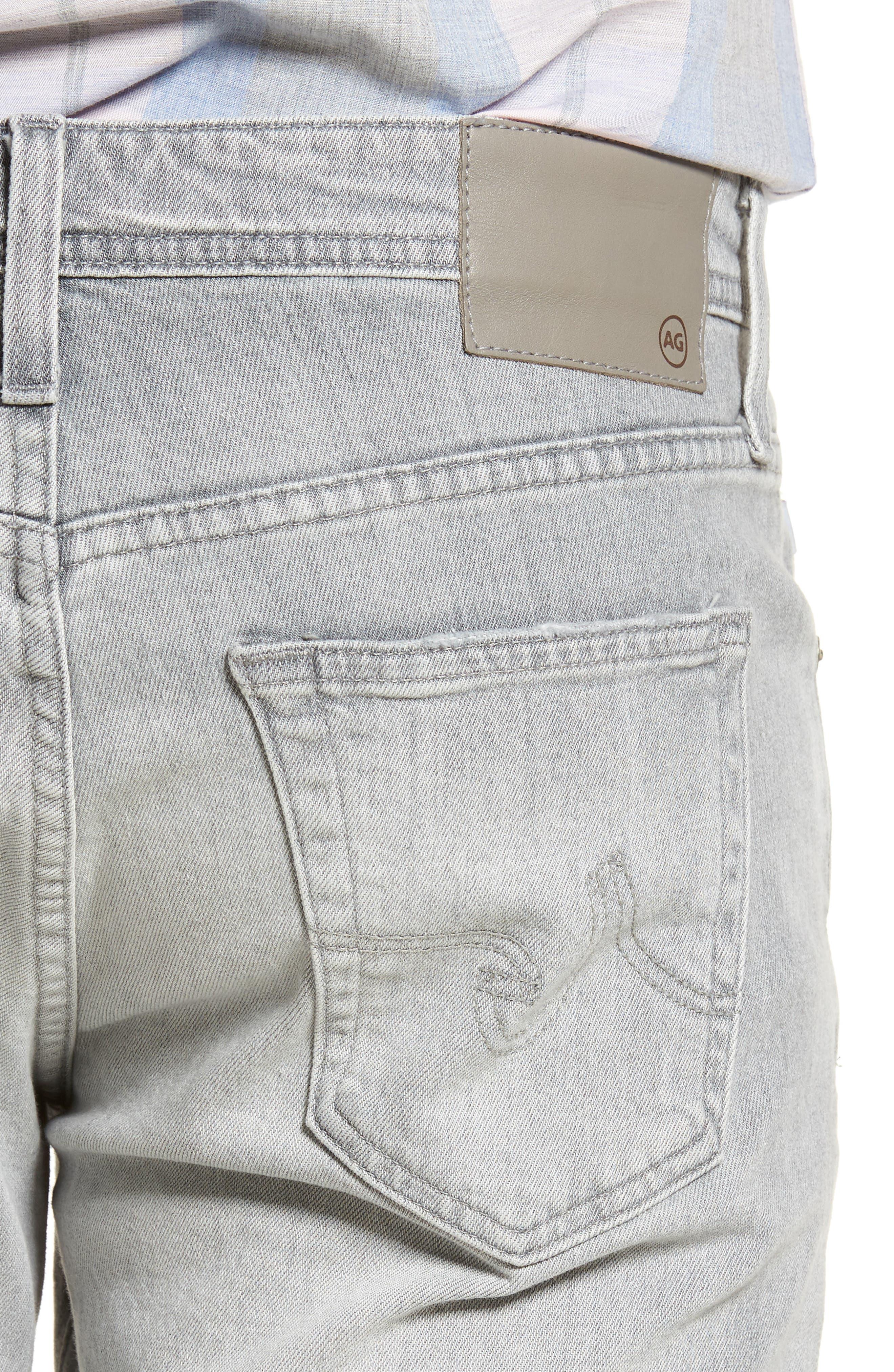 Graduate Slim Straight Leg Jeans,                             Alternate thumbnail 4, color,