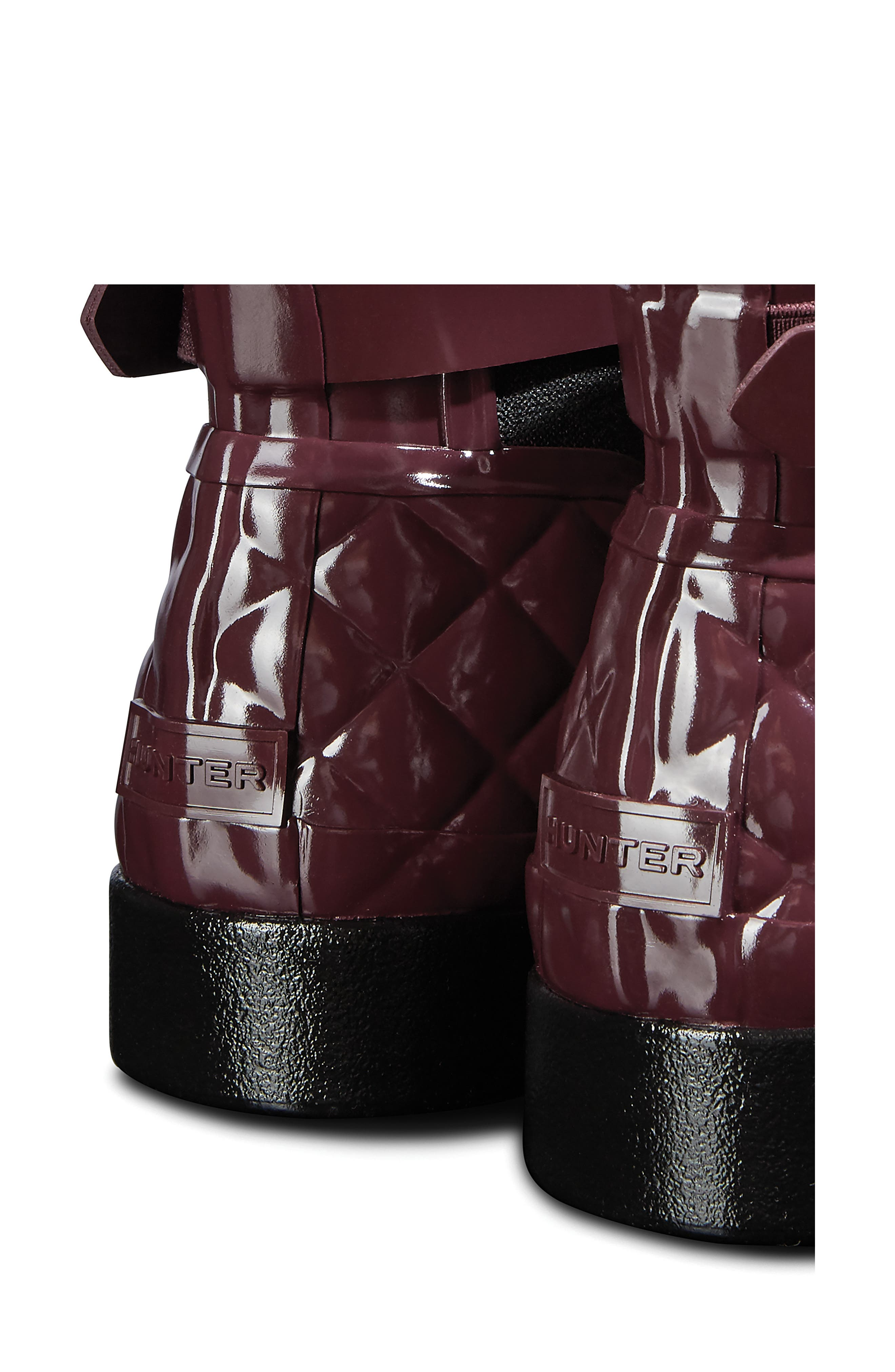 Original Refined Quilted Gloss Chelsea Waterproof Boot,                             Alternate thumbnail 5, color,                             519