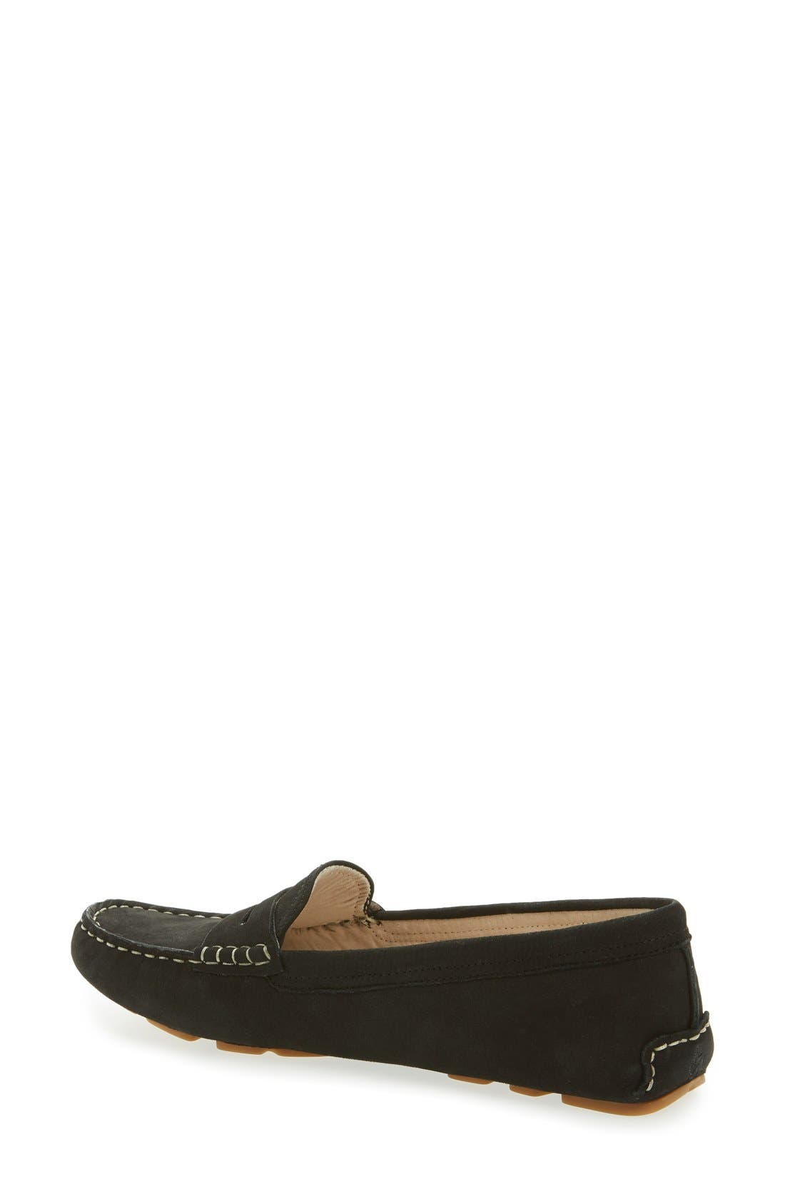 Filly Moc Toe Loafer,                             Alternate thumbnail 5, color,                             001