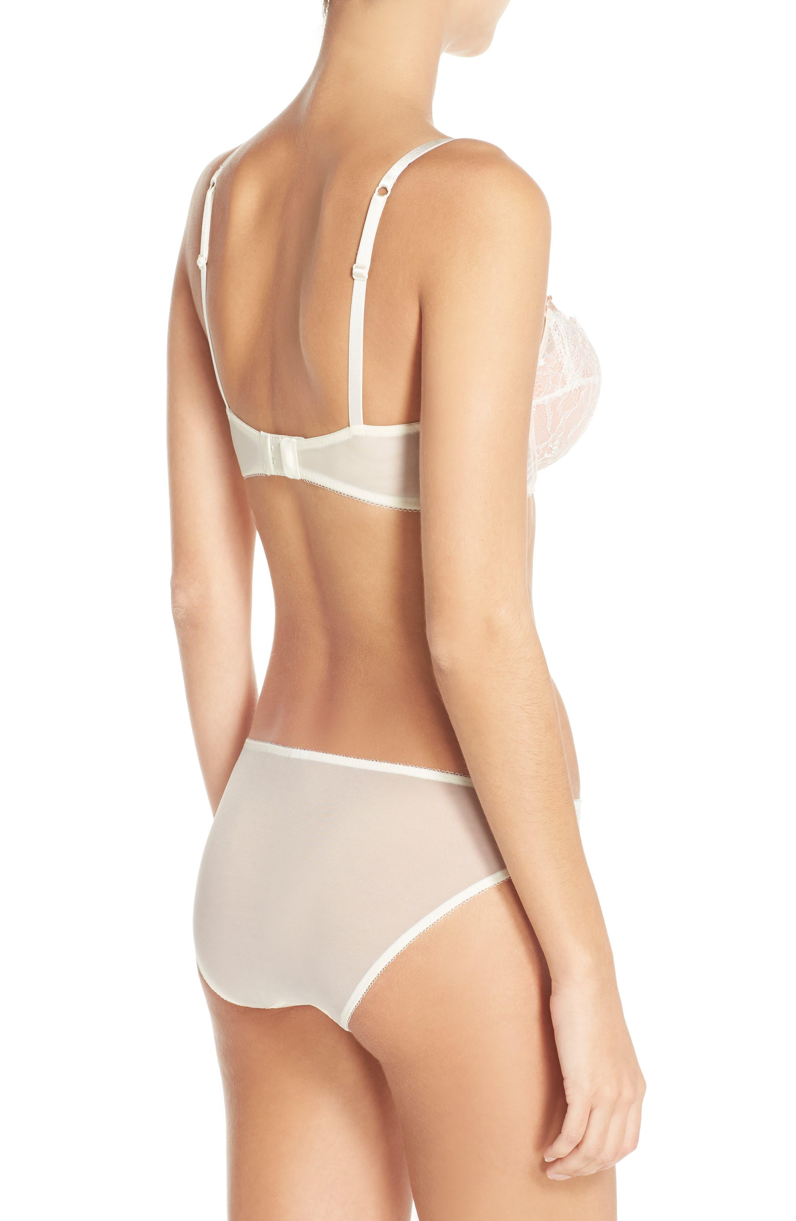 'B Sultry' Bikini,                             Alternate thumbnail 2, color,                             VANILLA ICE/ PEACH BEIGE