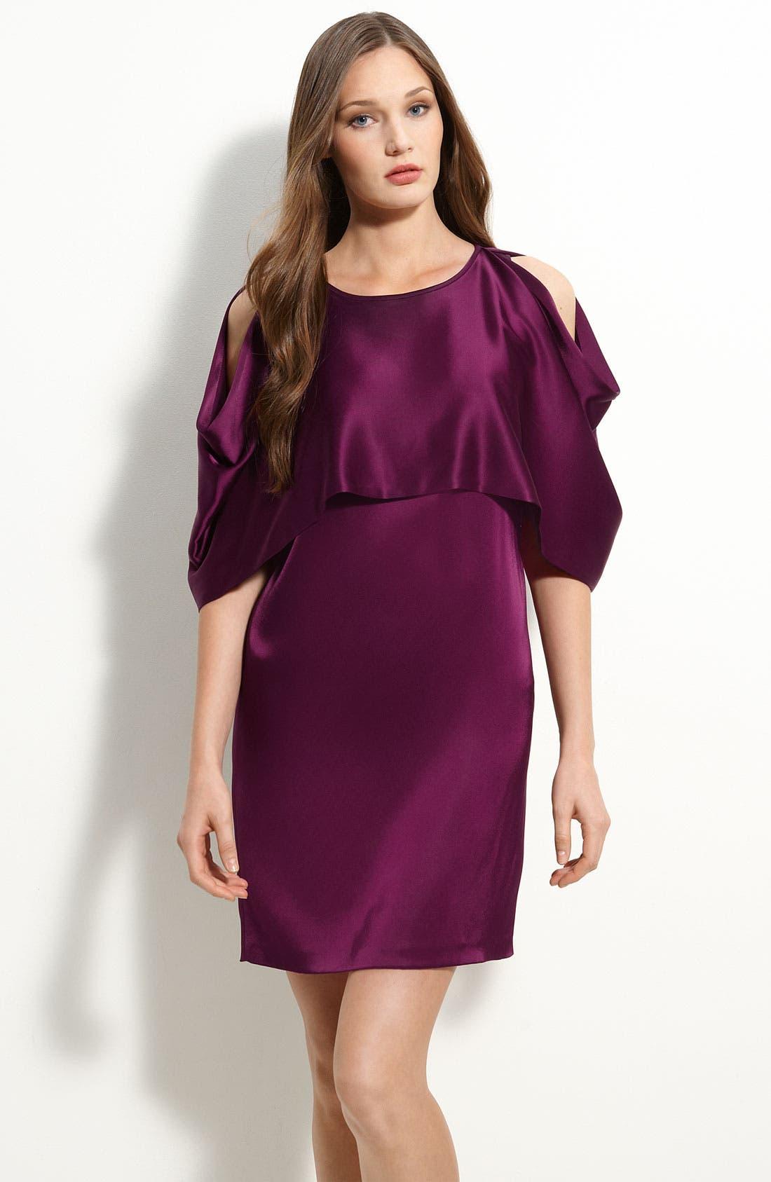 Cold Shoulder Dress,                             Main thumbnail 1, color,                             555