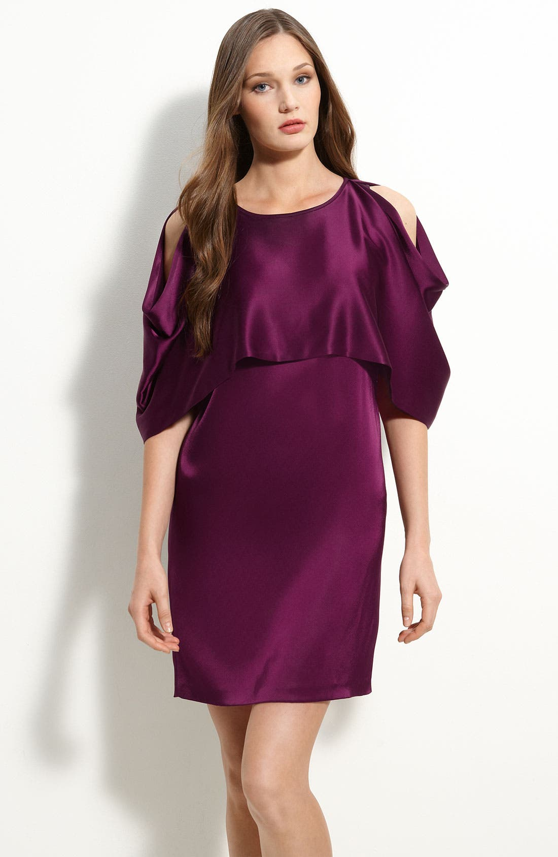 Cold Shoulder Dress,                         Main,                         color, 555