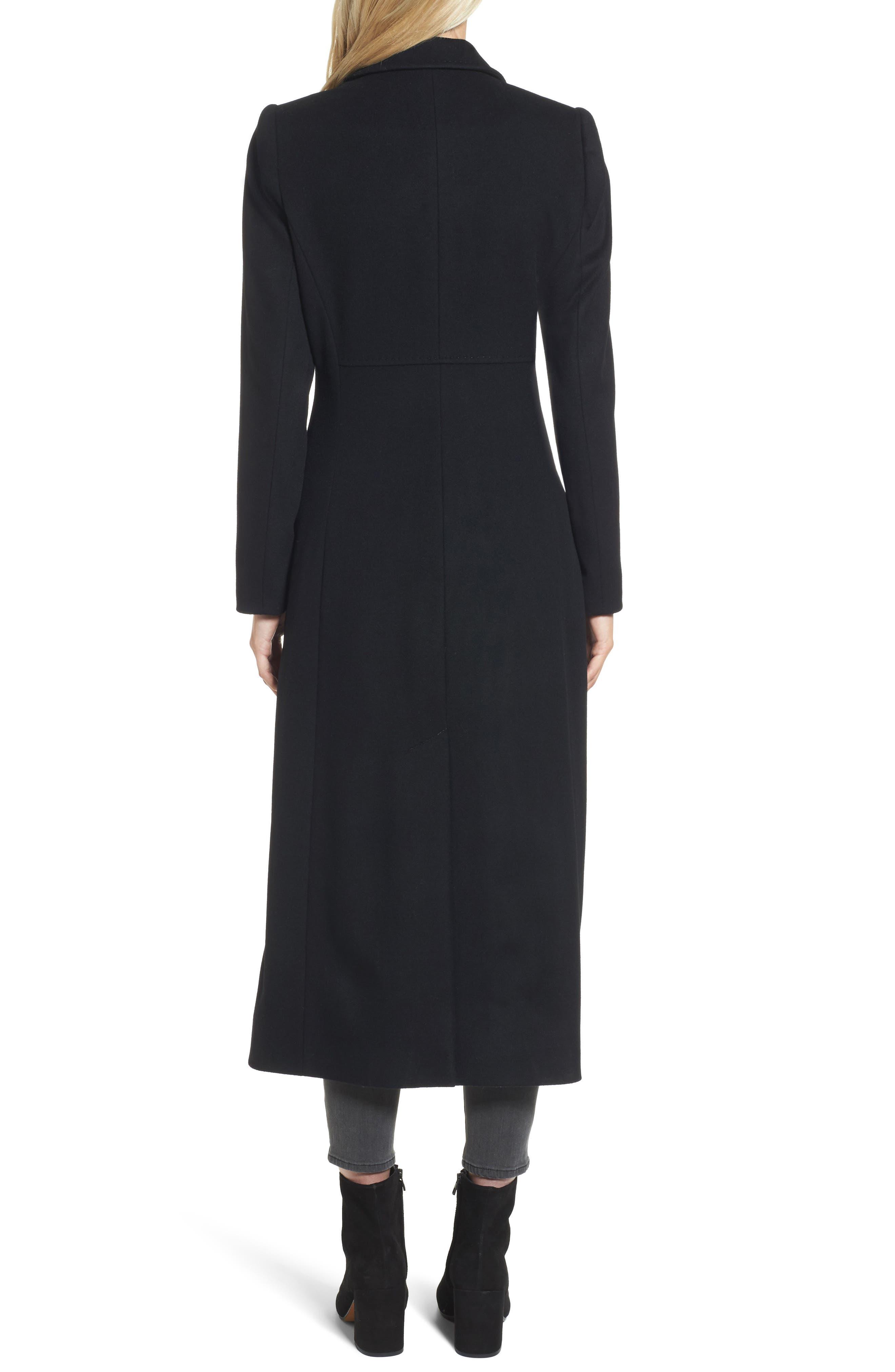Emi Wool Blend Coat,                             Alternate thumbnail 2, color,                             001