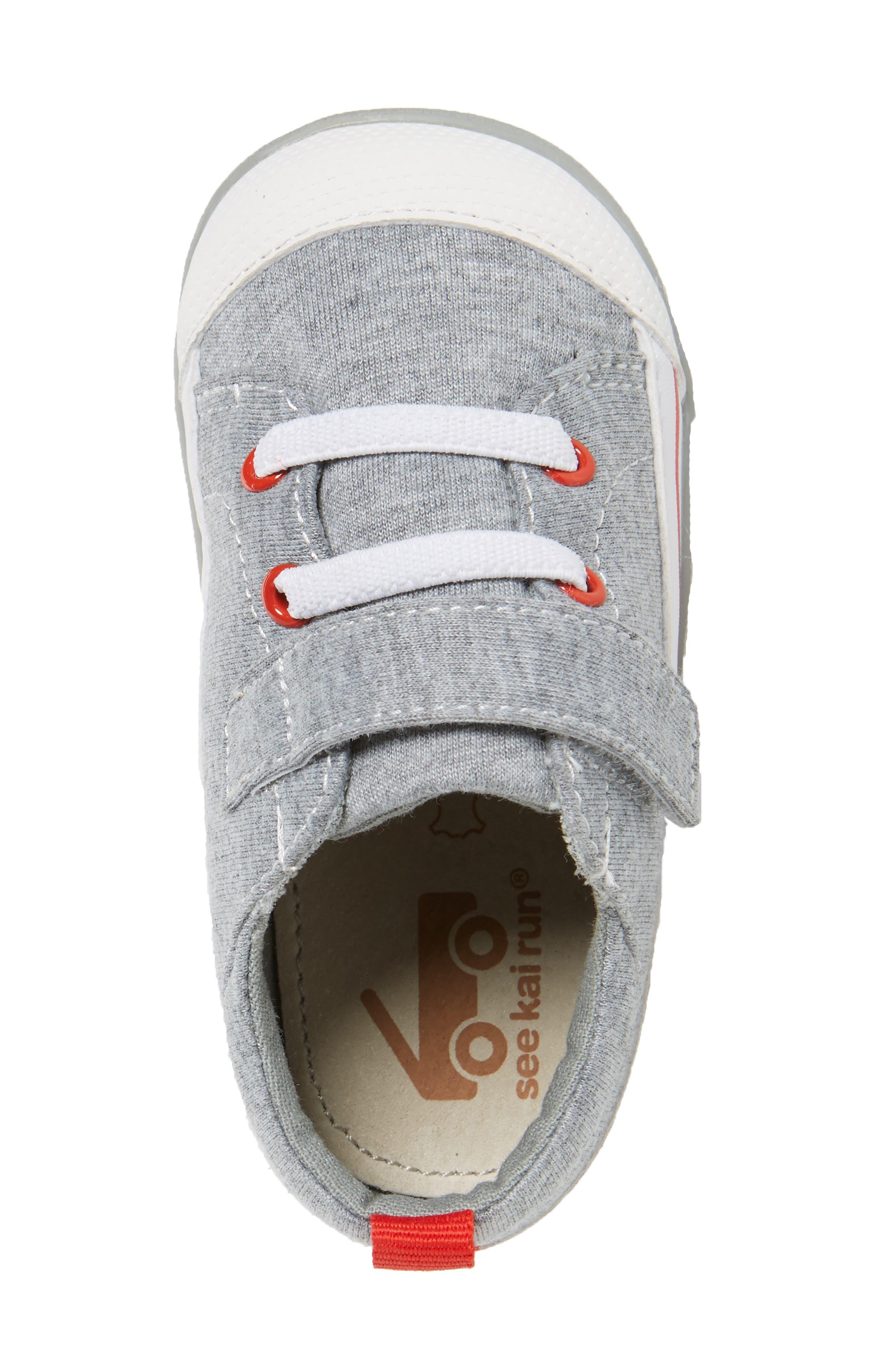 Stevie II Sneaker,                             Alternate thumbnail 3, color,                             GREY JERSEY