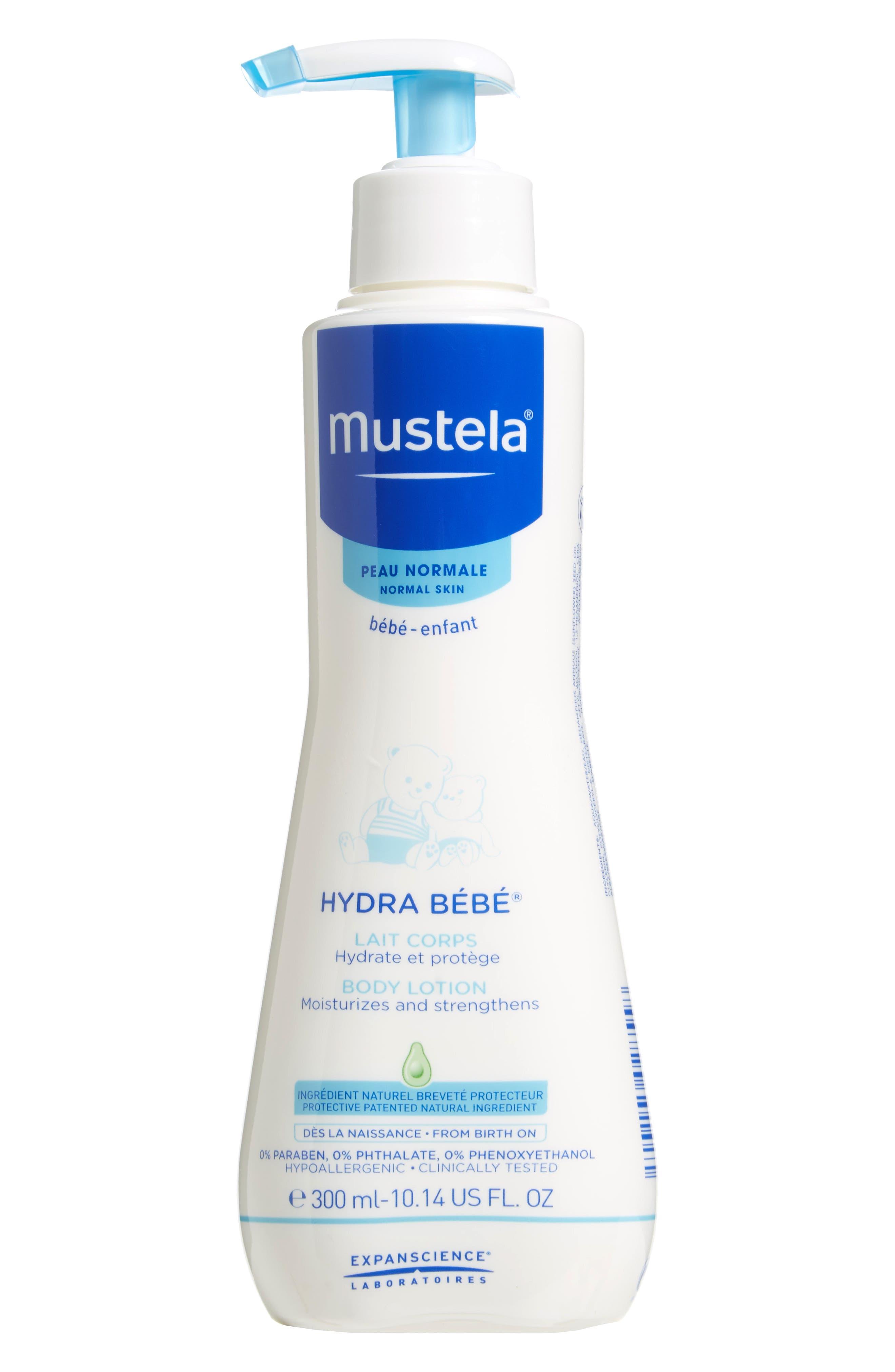 Hydra Bébé<sup>®</sup> Body Lotion,                             Main thumbnail 1, color,                             WHITE