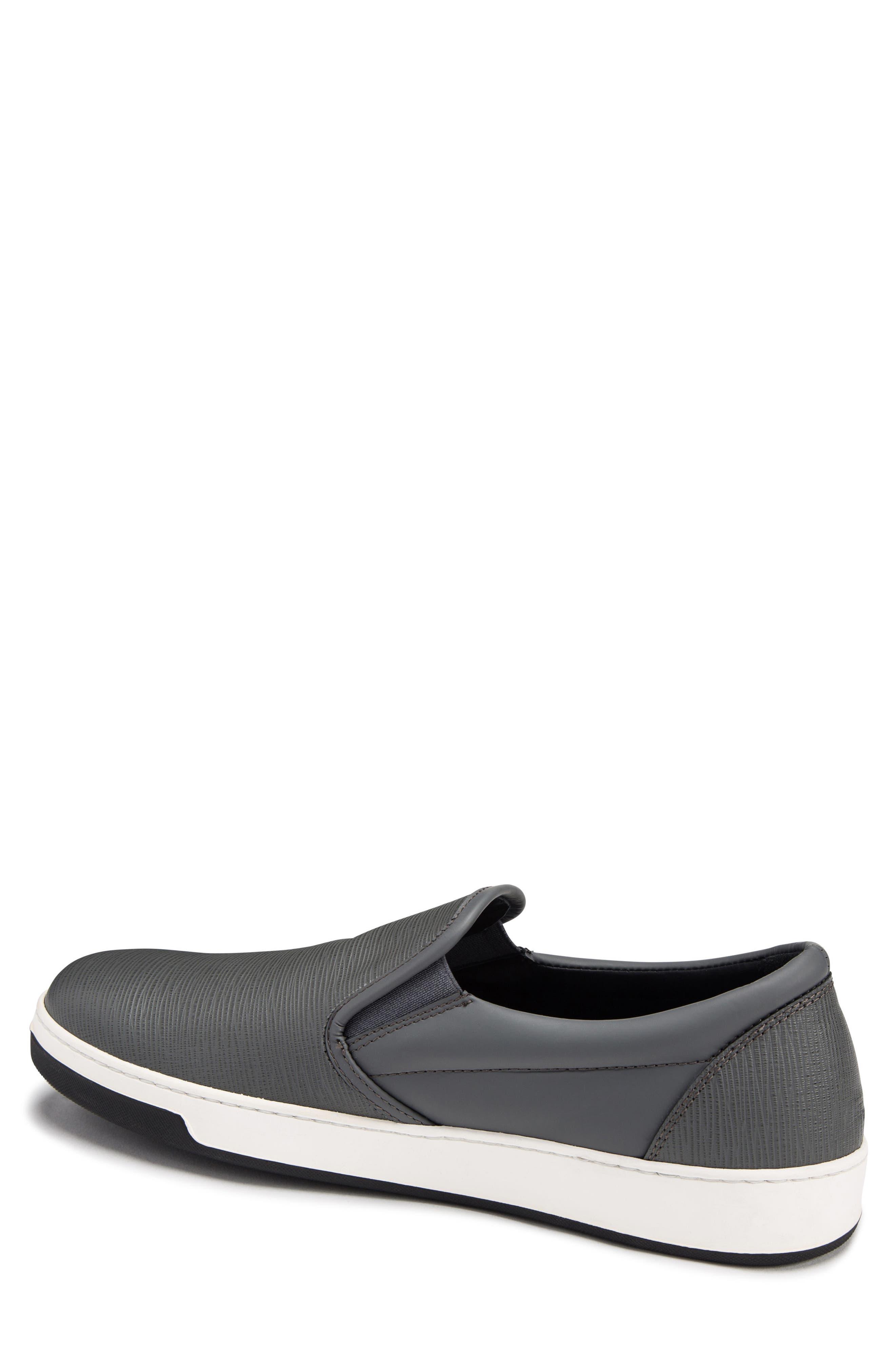 Santorini Slip-On Sneaker,                             Alternate thumbnail 2, color,                             GRAFITE