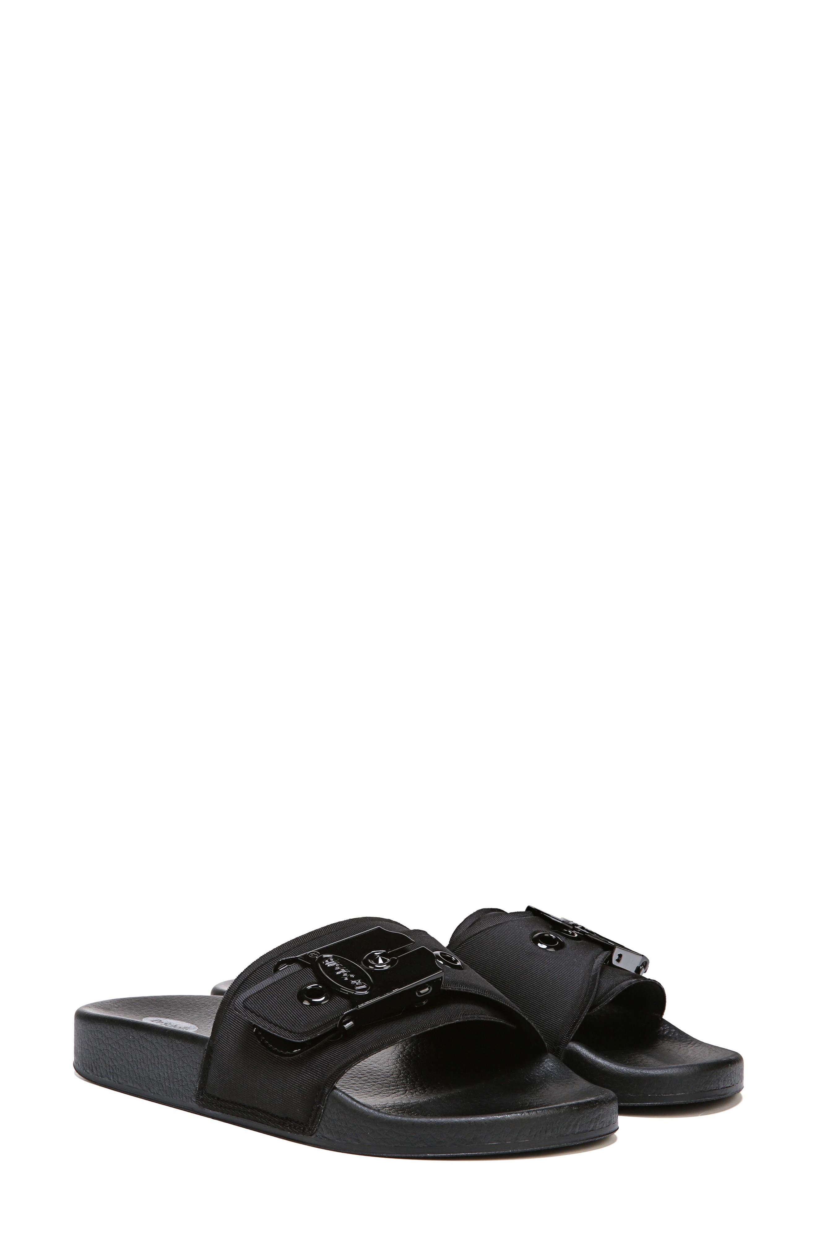 Original Pool Slide Sandal,                         Main,                         color, BLACK