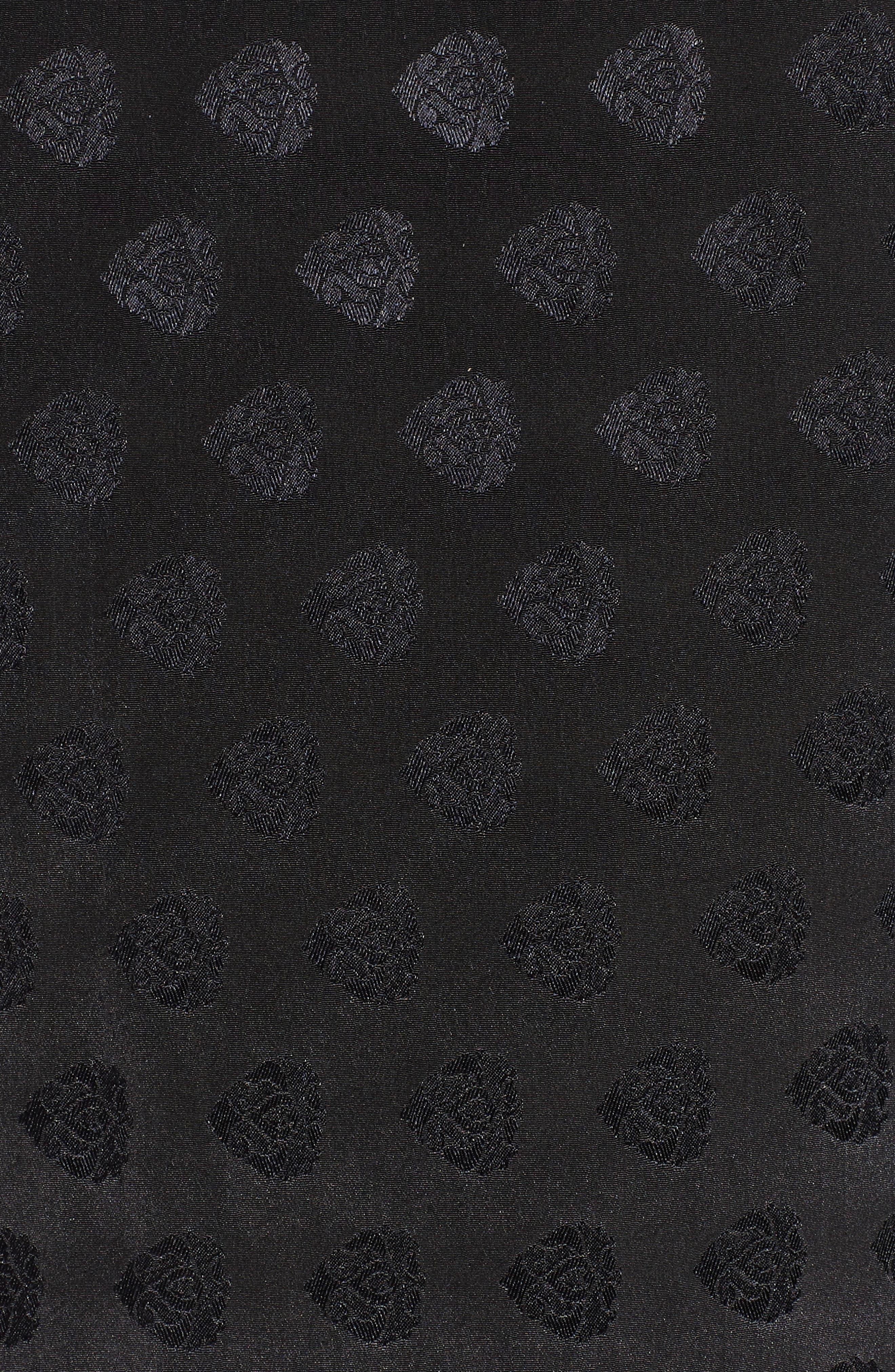 Reblogged Satin Jacquard Kimono,                             Alternate thumbnail 7, color,                             001