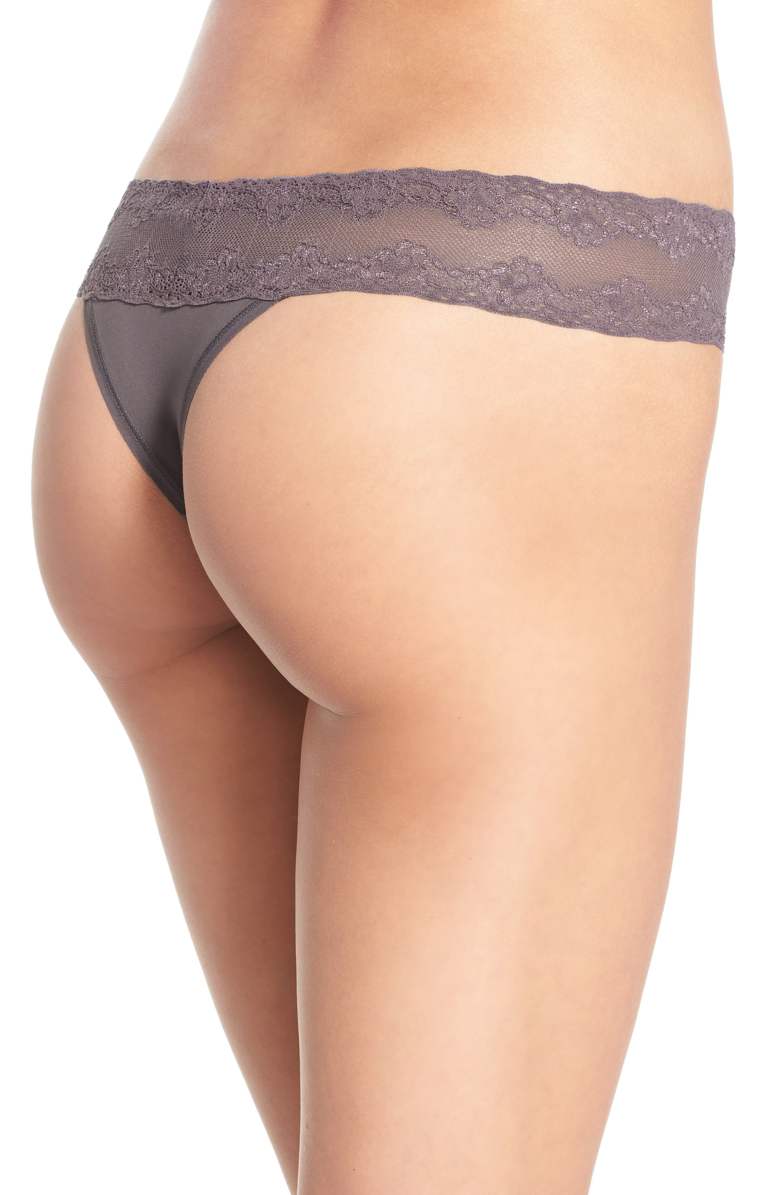 Bliss Perfection Thong,                             Alternate thumbnail 145, color,