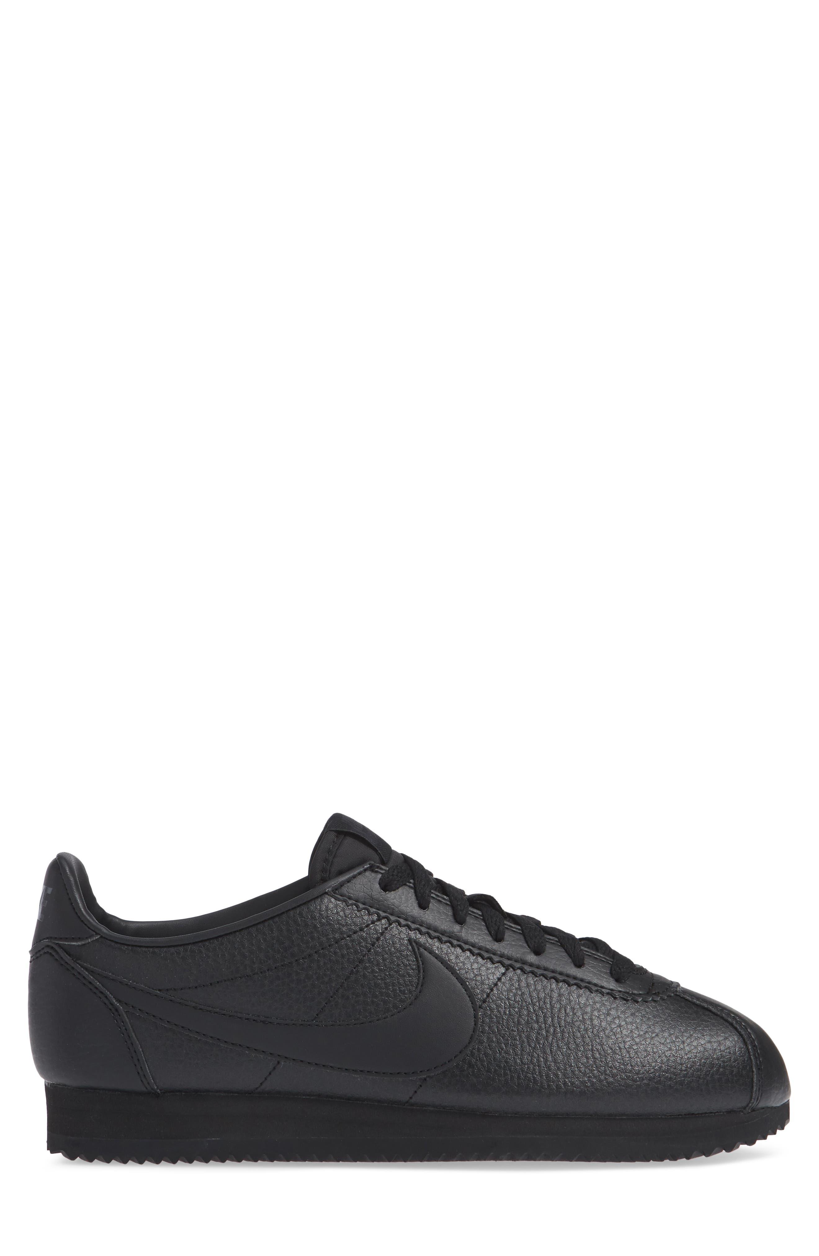 Classic Cortez Sneaker,                             Alternate thumbnail 3, color,                             002