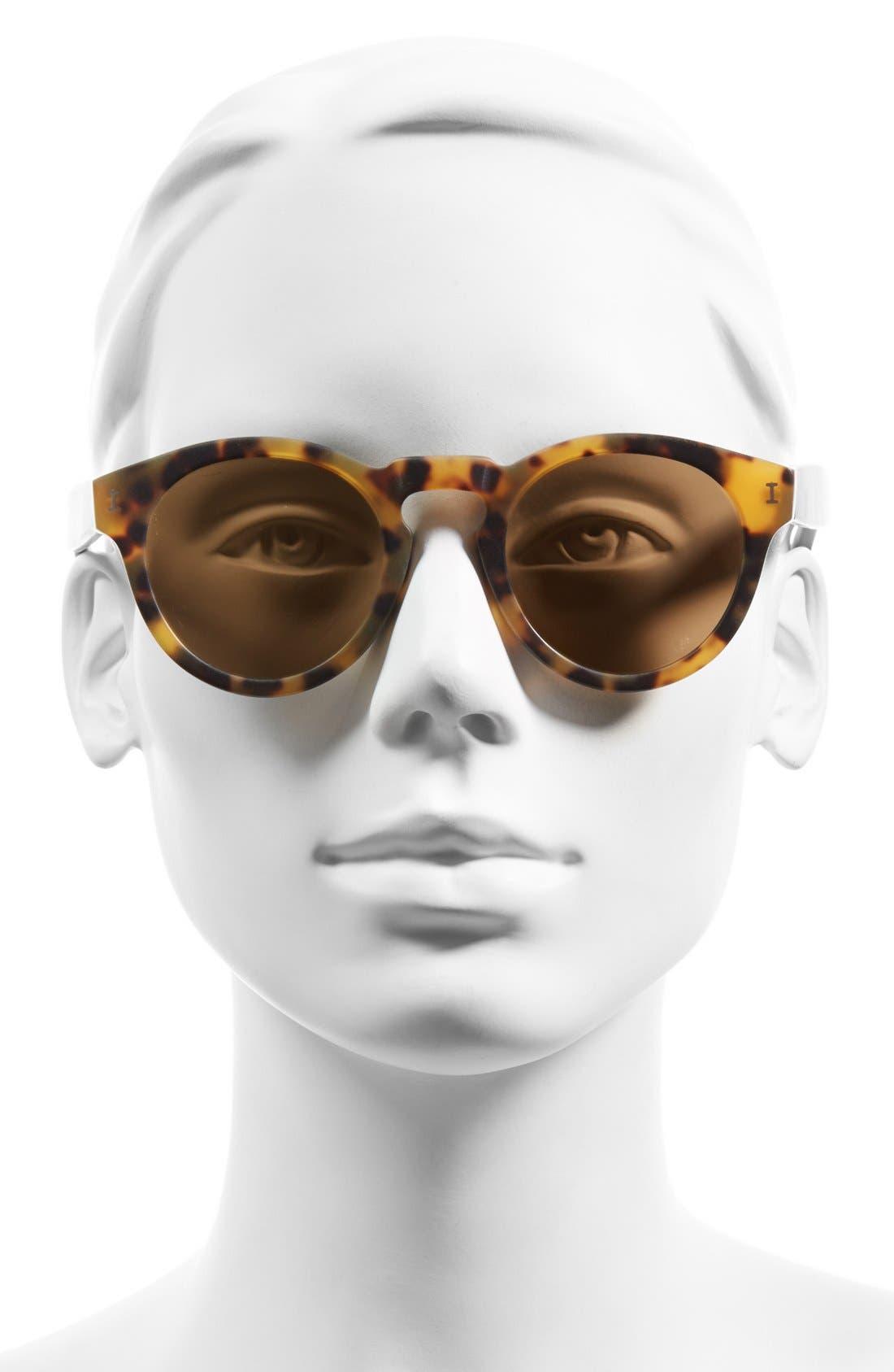 'Leonard' 47mm Sunglasses,                             Alternate thumbnail 128, color,