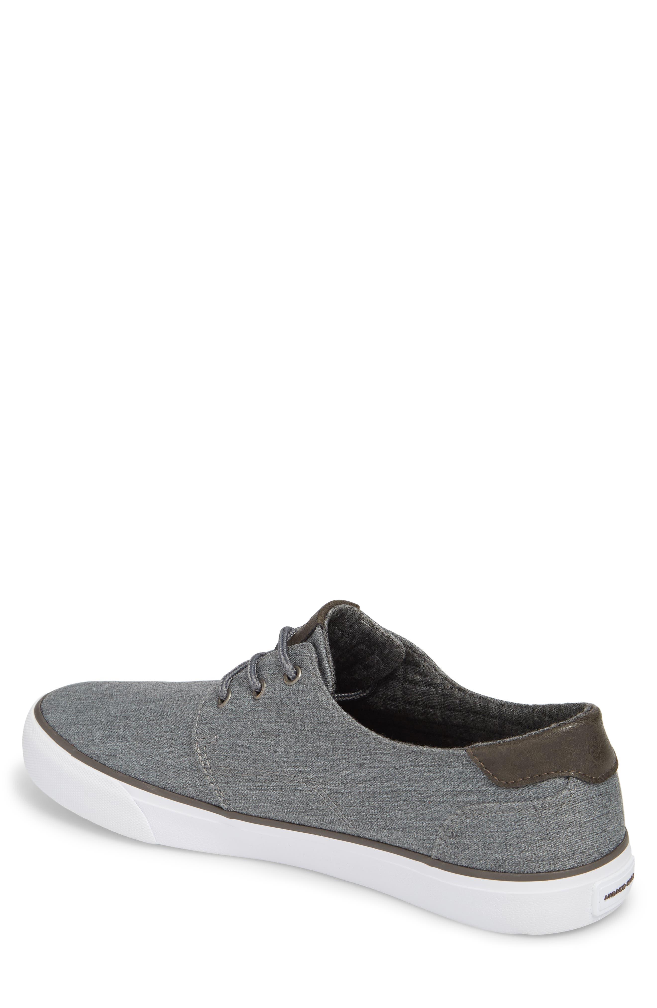 Briggs Low Top Sneaker,                             Alternate thumbnail 2, color,                             CHARCOAL/ DARK GREY/ WHITE