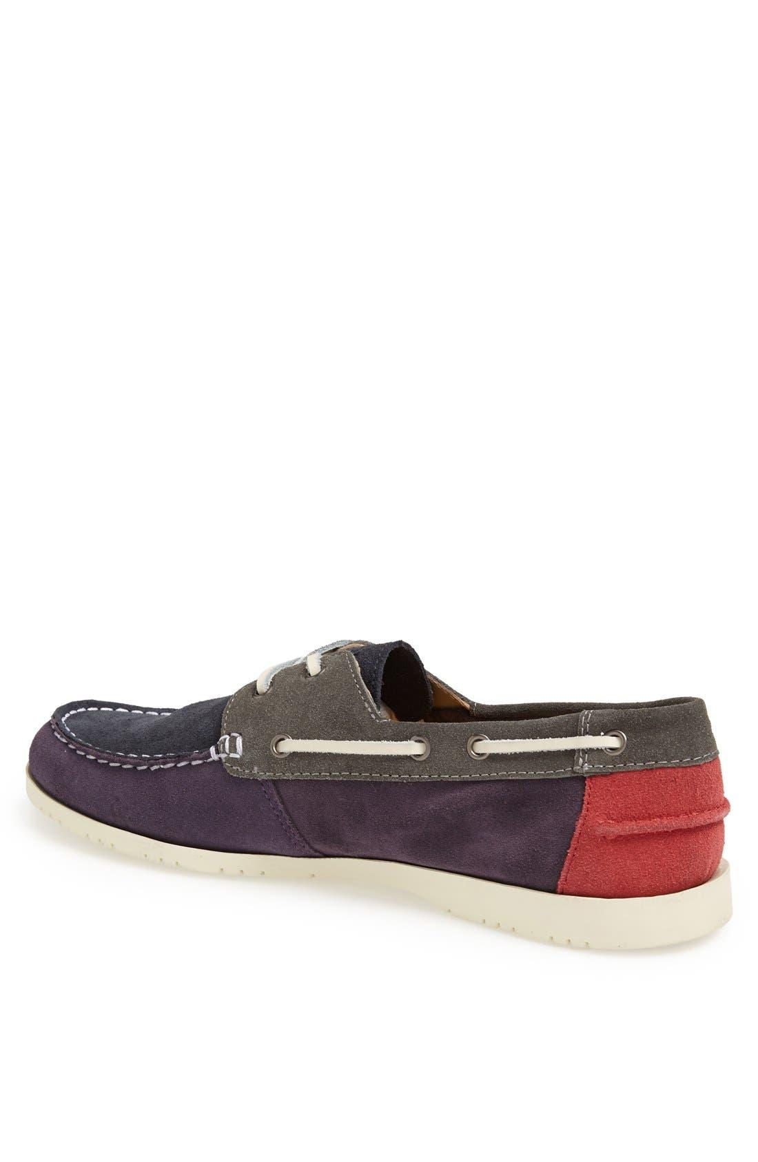 LACOSTE,                             'Corbon 7' Boat Shoe,                             Alternate thumbnail 2, color,                             518