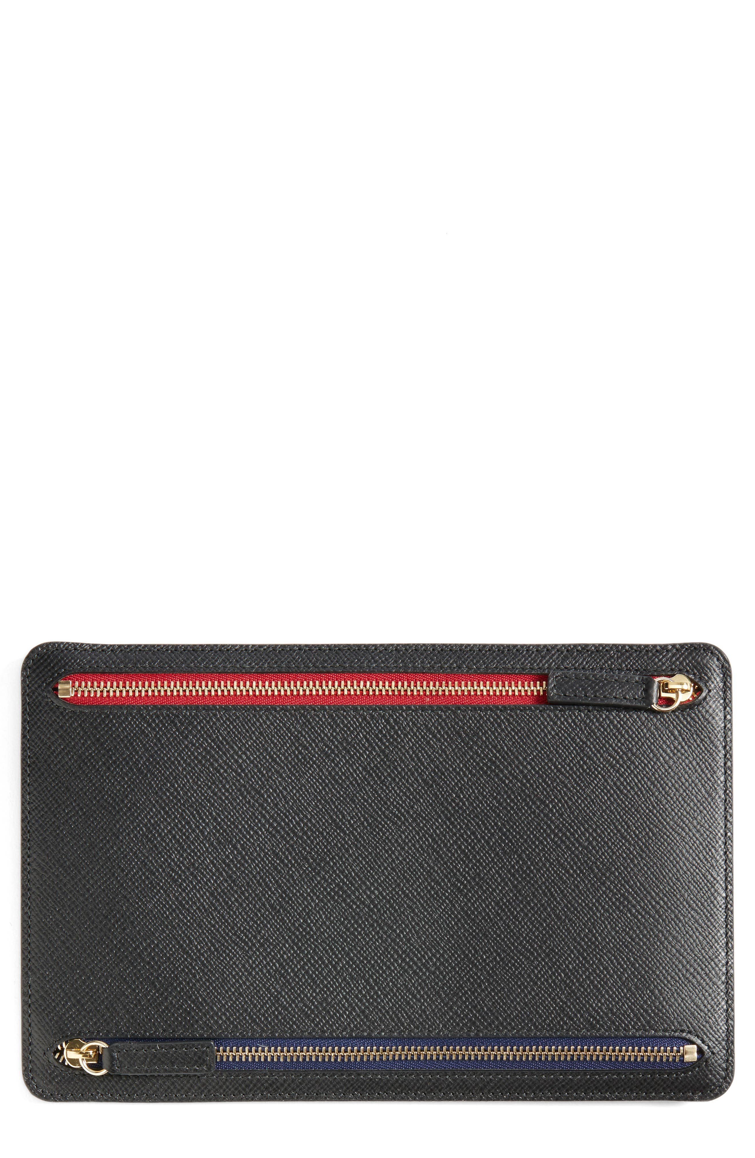 'Panama' Zip Currency Case,                         Main,                         color, 001
